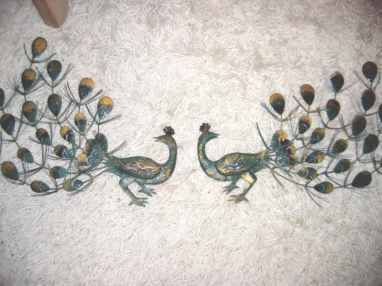 Vintage Metal Peacock Wall Art | Home Design Ideas Regarding Recent Peacock Metal Wall Art (View 11 of 20)
