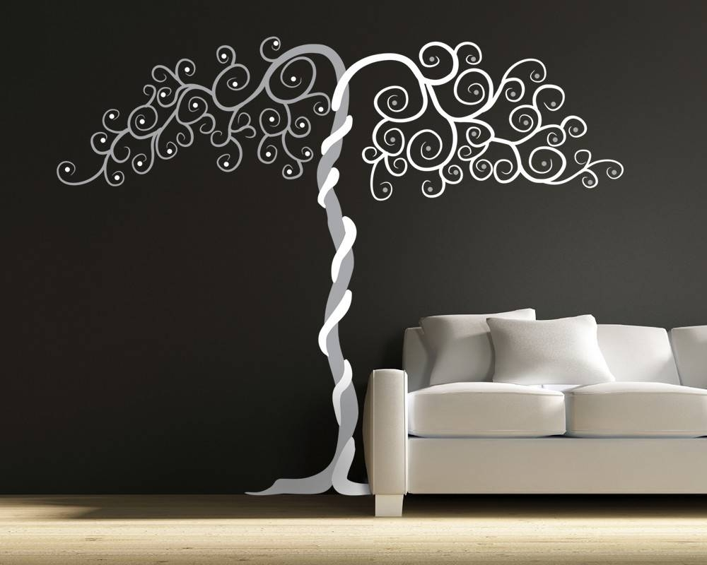 Vinyl Wall Art Tree Decal Tango Within 2017 Vinyl Wall Art Tree (Gallery 1 of 20)