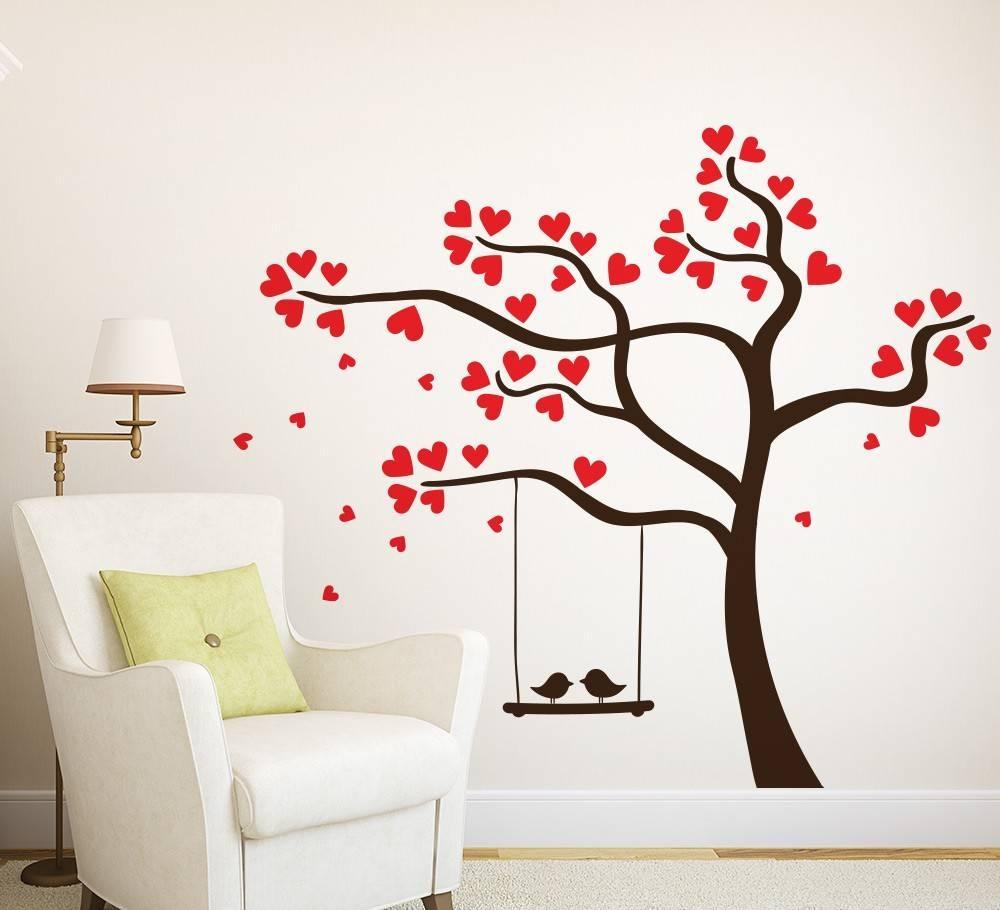 Vinyl Wall Art Website Inspiration Tree Wall Art – Home Decor Ideas With Regard To 2017 Vinyl Wall Art Tree (View 14 of 20)