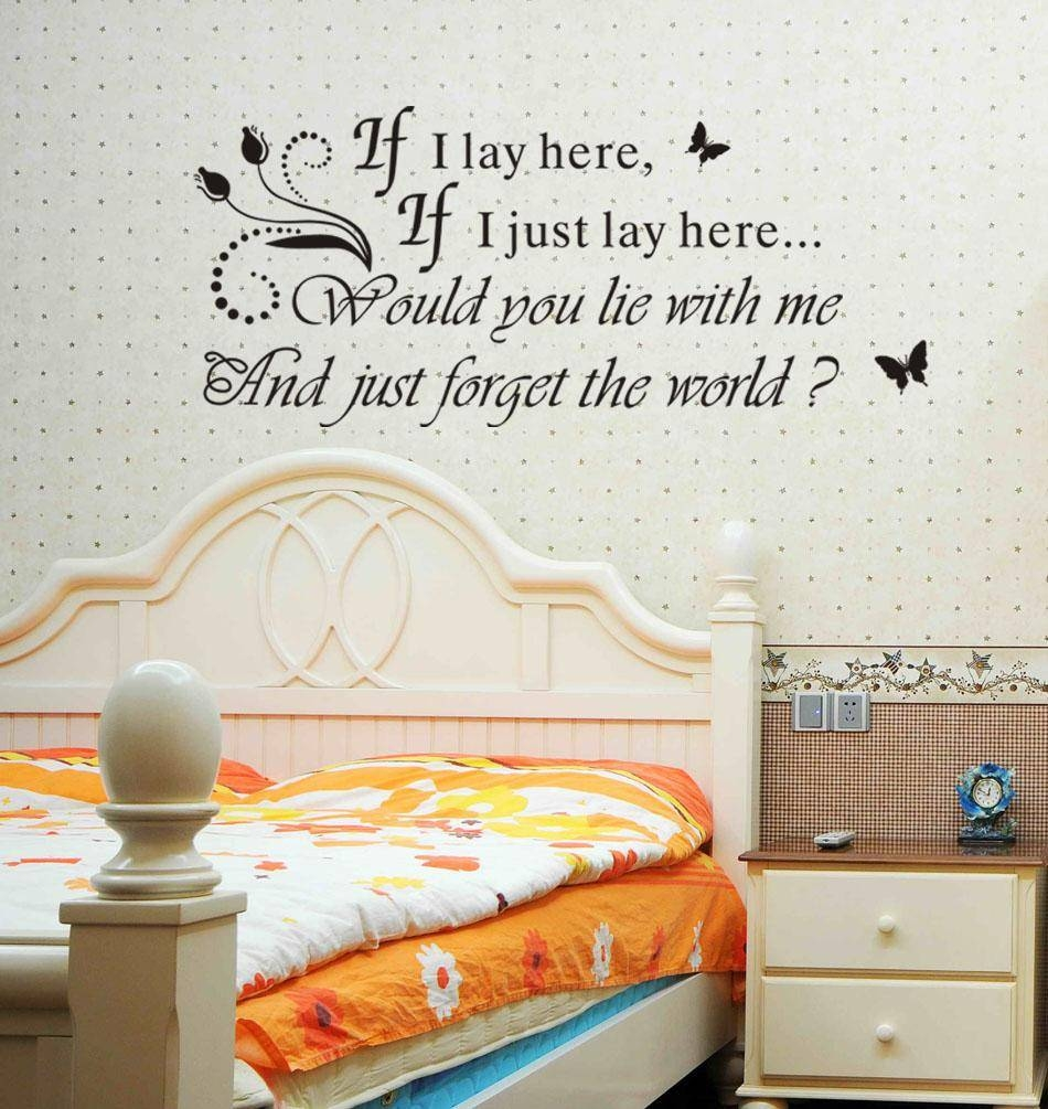 Vinyl Wall Decals Quotes | Roselawnlutheran Pertaining To Most Recently Released 3D Wall Art Words (Gallery 18 of 20)