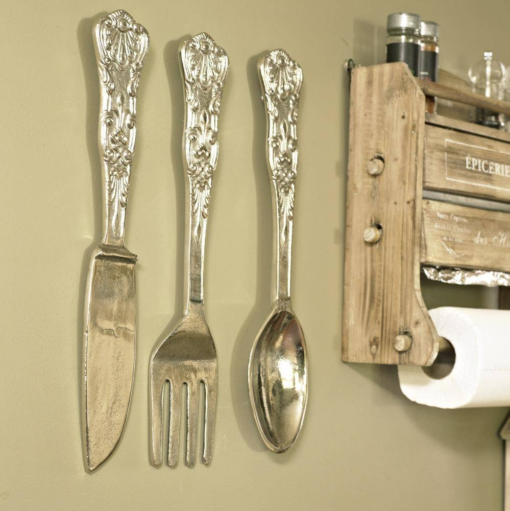 Top 20 of Oversized Cutlery Wall Art