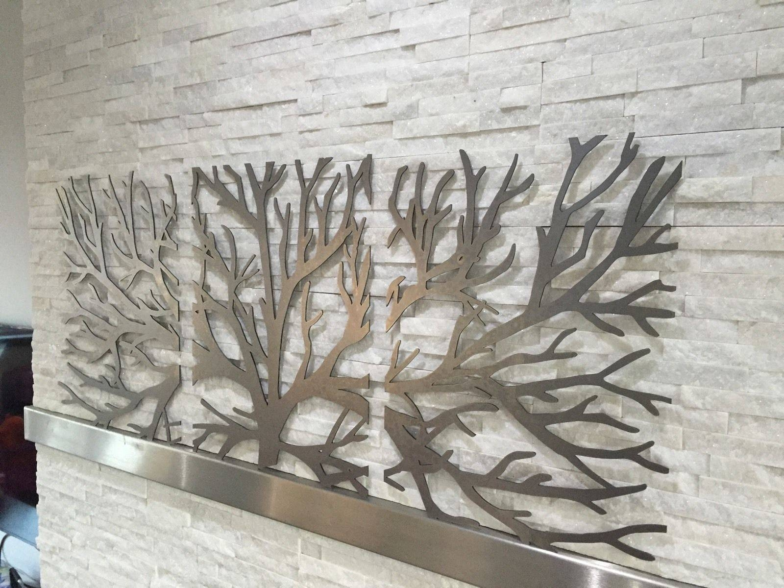Wall Art 3D Metal Decor | Wallartideas In Most Up To Date 3D Metal Wall Art (View 14 of 20)