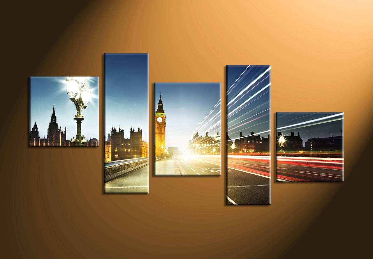 Wall Art: Astonishing Multiple Canvas Art Two Canvas Painting Intended For Most Up To Date Multiple Canvas Wall Art (View 17 of 20)