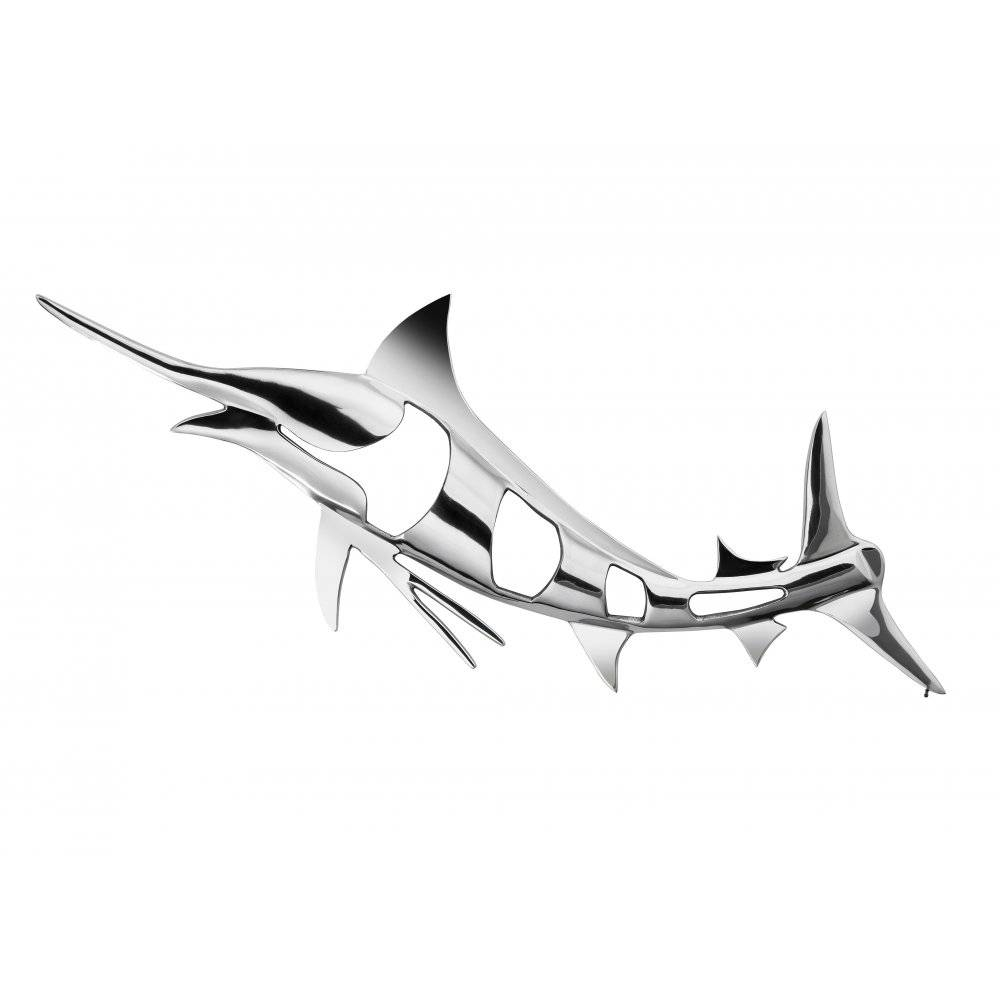 Wall Art: Astounsing Shape Metal Chrome Wall Art Chrome Wall Intended For Newest Dolphin Metal Wall Art (View 22 of 25)