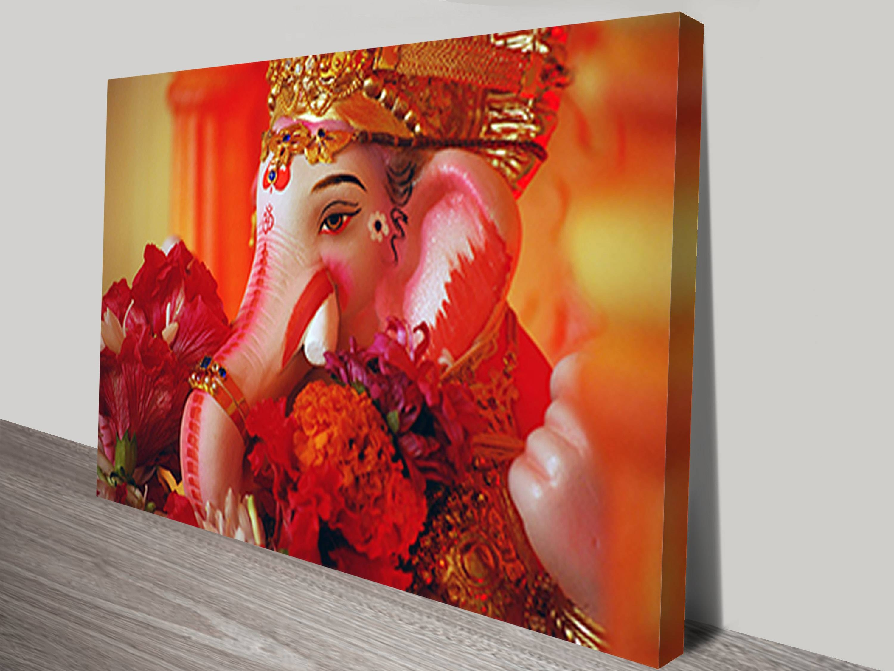 Wall Art Canvas Intended For 2017 Ganesh Wall Art (View 20 of 20)