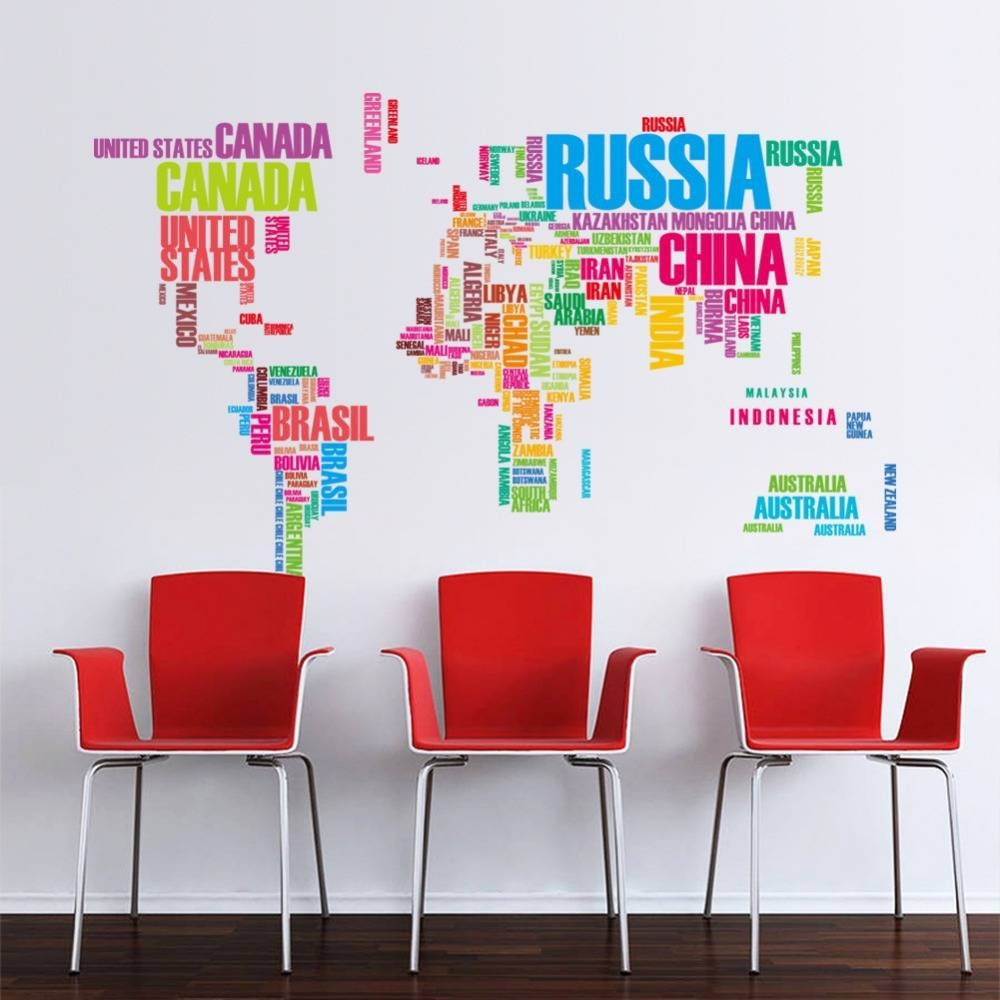 Wall Art Decals For Classrooms ~ Color The Walls Of Your House For Best And Newest Classroom Vinyl Wall Art (View 30 of 30)