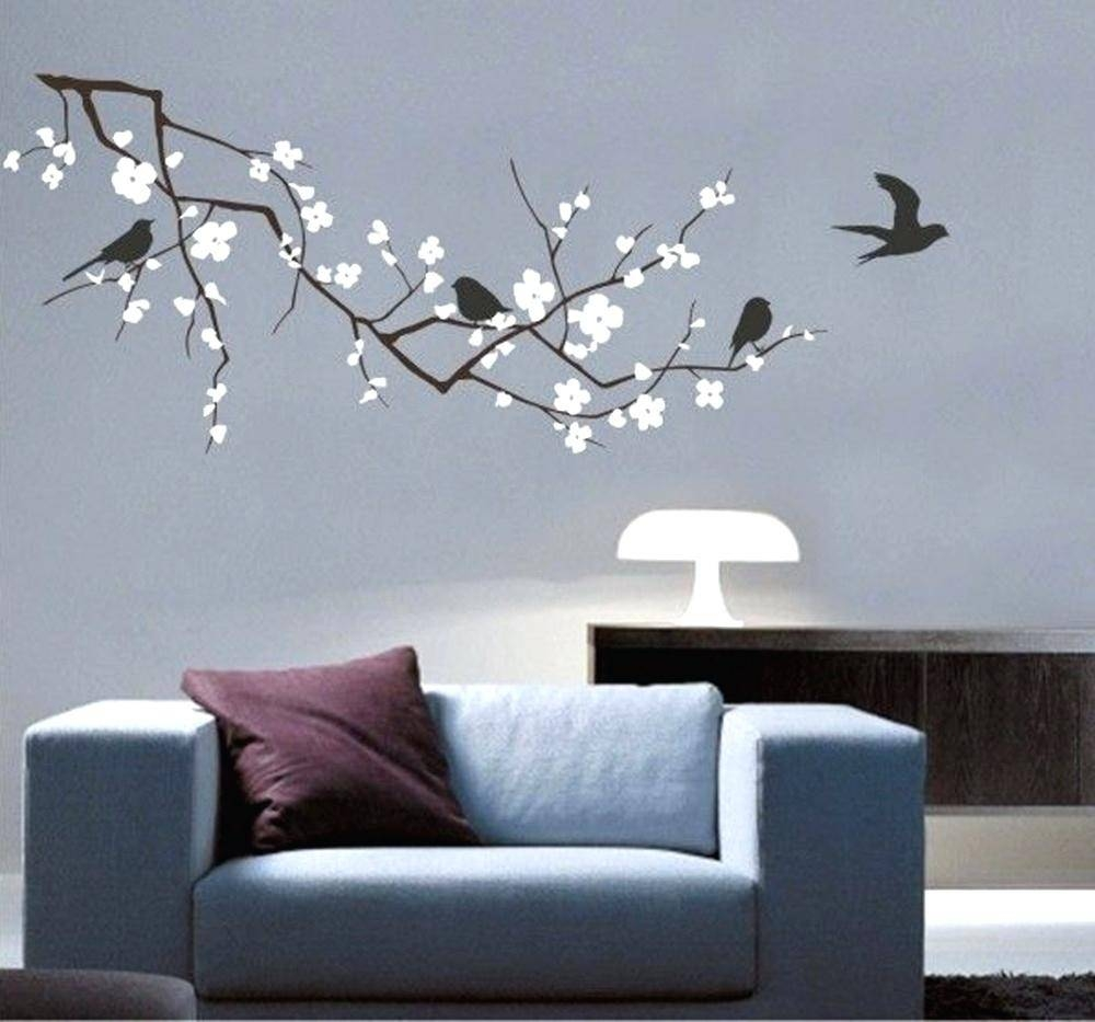 Wall Art Decals Tree Wall Decals Vinyl Fashion Tree Branch Cherry In 2017 Tree Branch Wall Art (View 19 of 20)