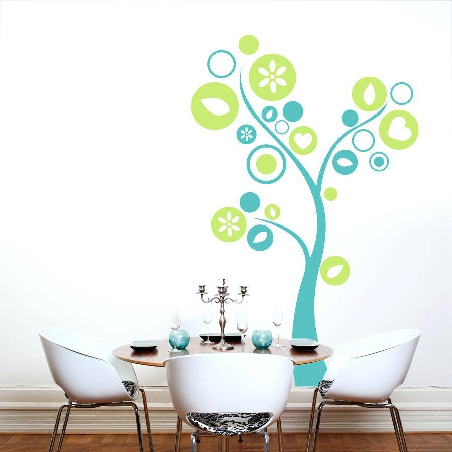 Wall Art Decals Trees Topiary Wall Art Decal Wall Decals – Gutesleben Pertaining To Most Recent Topiary Wall Art (View 21 of 30)