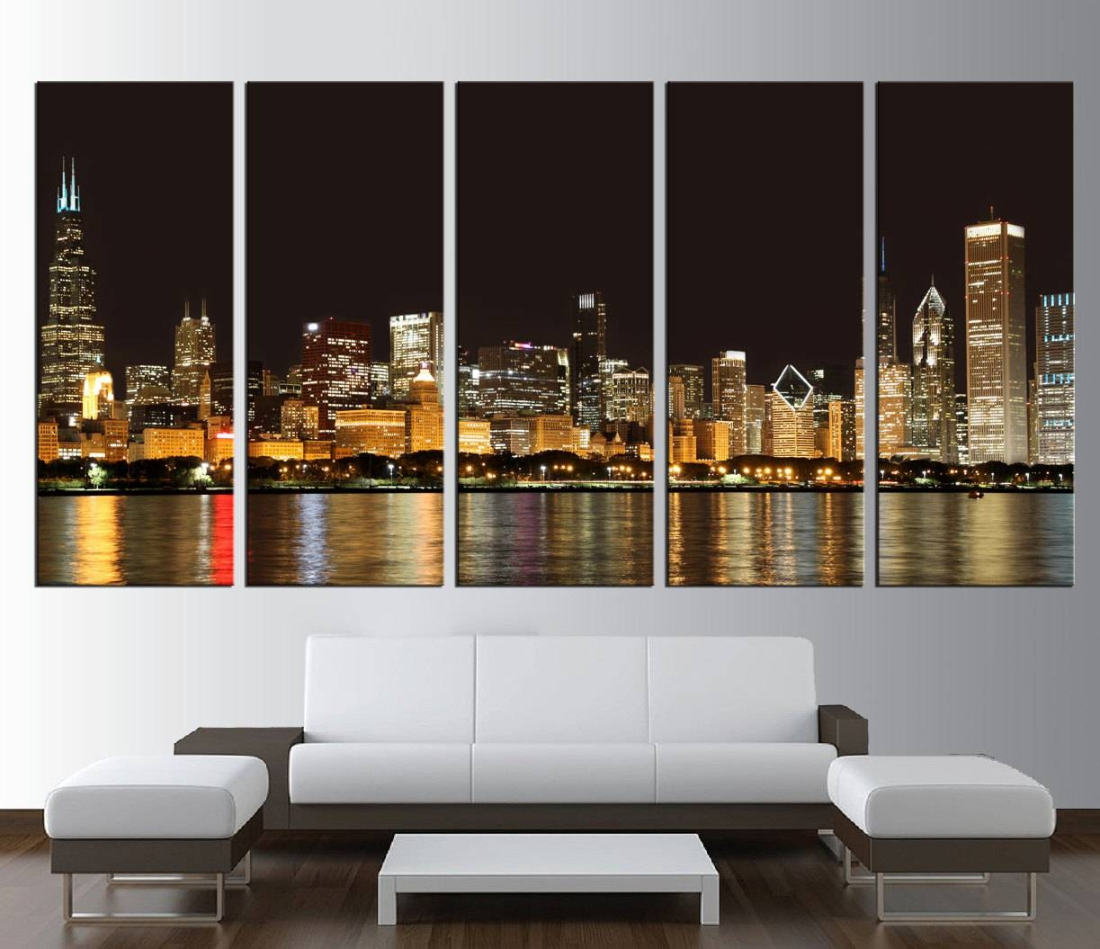 Wall Art Design: Extra Large Wall Art Rectangle Black Gold Throughout Current Huge Wall Art Canvas (View 18 of 20)
