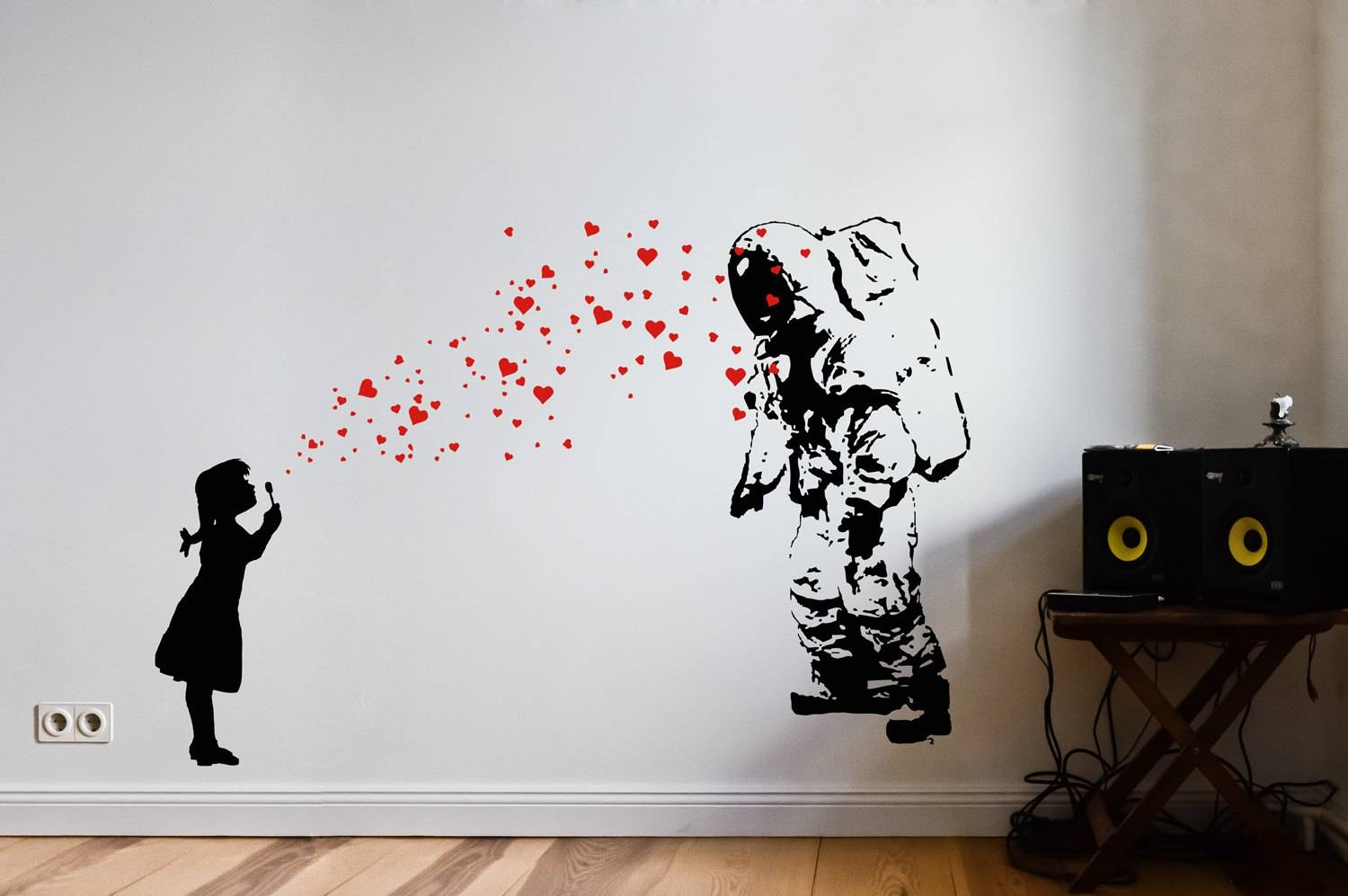 Wall Art Design: Giksy Wall Art Black White Red Little Girl And In Current Little Girl Wall Art (View 18 of 20)