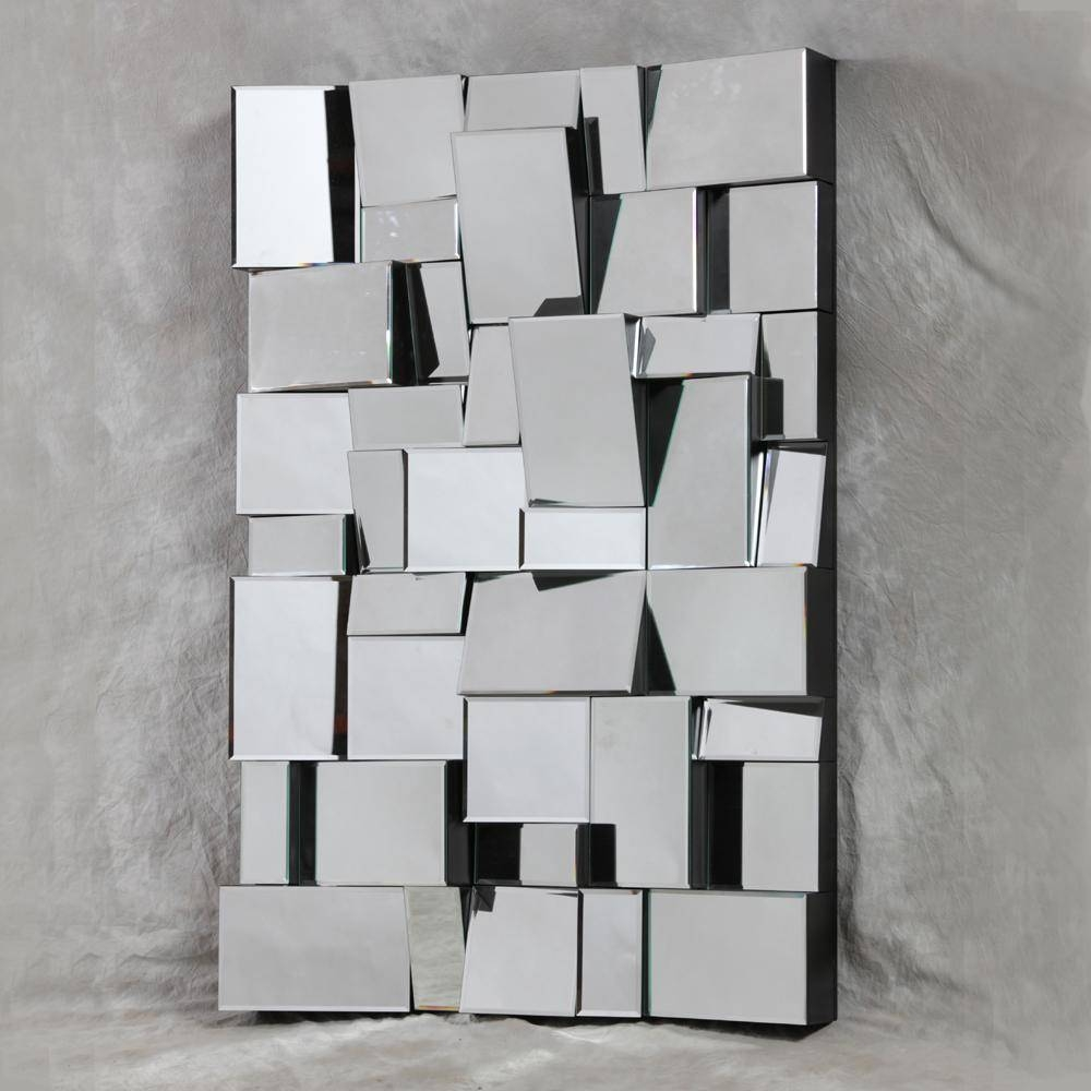 Wall Art Design Ideas: Foldable Creative 3D Mirror Wall Art Within Most Recently Released Modern Mirrored Wall Art (View 4 of 20)