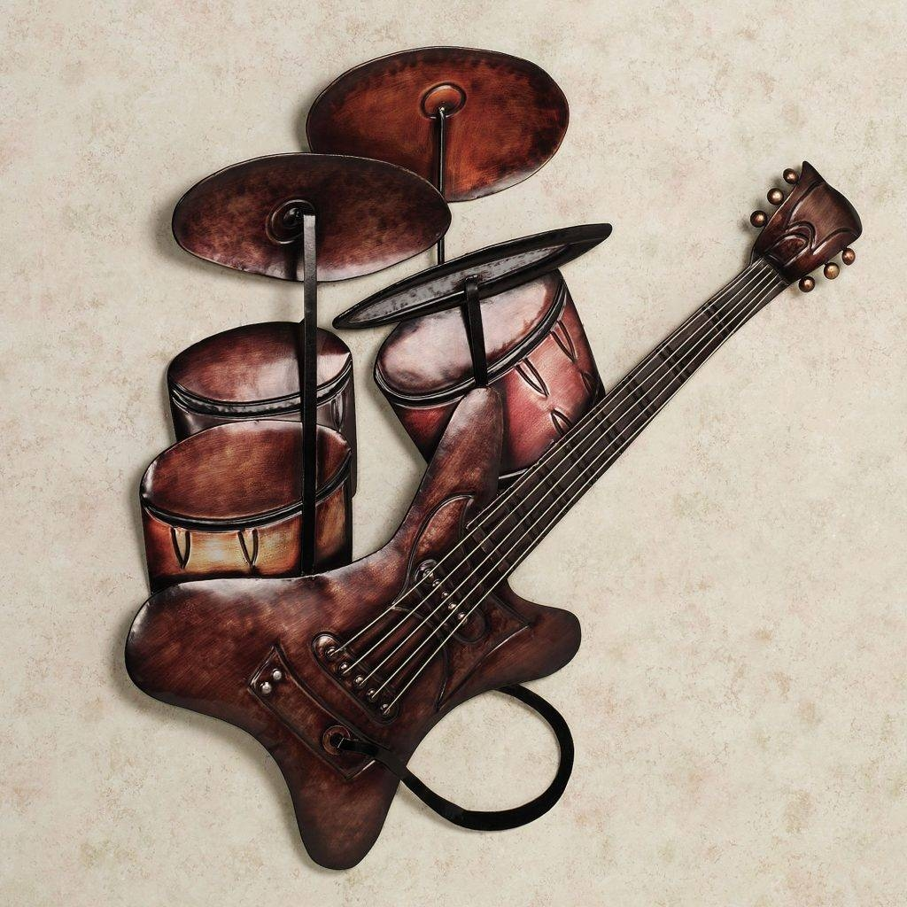 Wall Art Design Ideas: Metal Wall Art Music Notes, Music Tin Art Intended For Current Music Metal Wall Art (View 17 of 20)