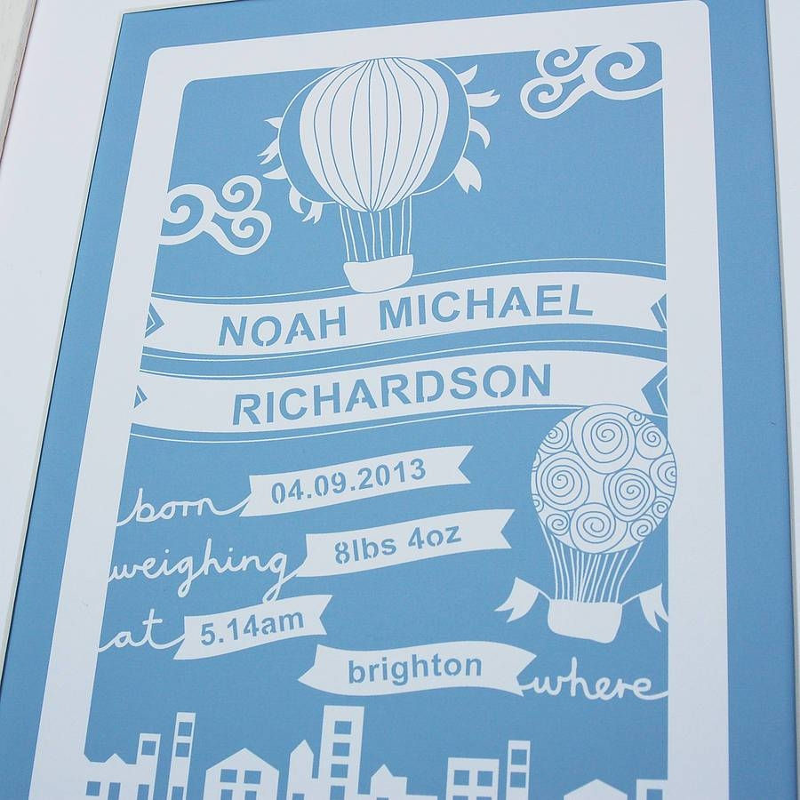 Wall Art Design Ideas: Original Adorable Personalized Baby Wall Pertaining To Best And Newest Personalized Nursery Wall Art (View 6 of 20)