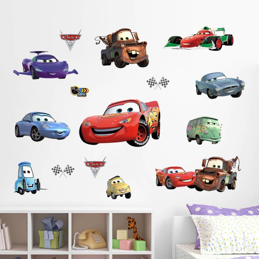 Wall Art Design Ideas: Product Sold Lightning Mcqueen Wall Art Intended For Most Recent Lightning Mcqueen Wall Art (View 3 of 20)