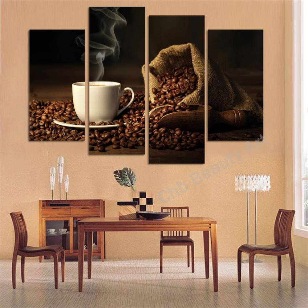 Wall Art Designs: 4 Piece Canvas Wall Art A Walk Through The Pertaining To Newest 4 Piece Canvas Art Sets (View 13 of 25)