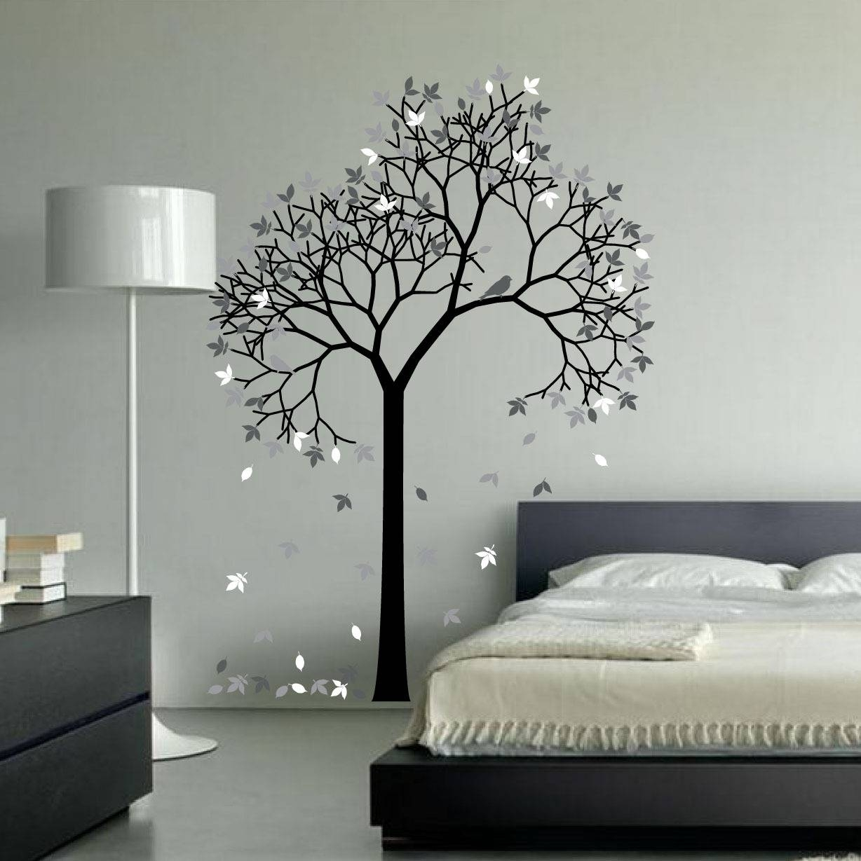 Wall Art Designs: Aspen Tree Wall Art Aspen Tree Decor, Aspen Regarding Most Recently Released Painted Trees Wall Art (View 17 of 20)