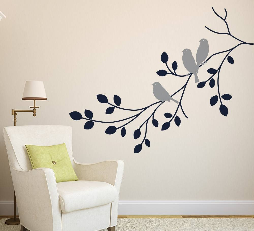 Wall Art Designs: Awesome Gallery Wall Art Home Decor At Walmart Inside Recent Wall Art Deco Decals (Gallery 18 of 20)