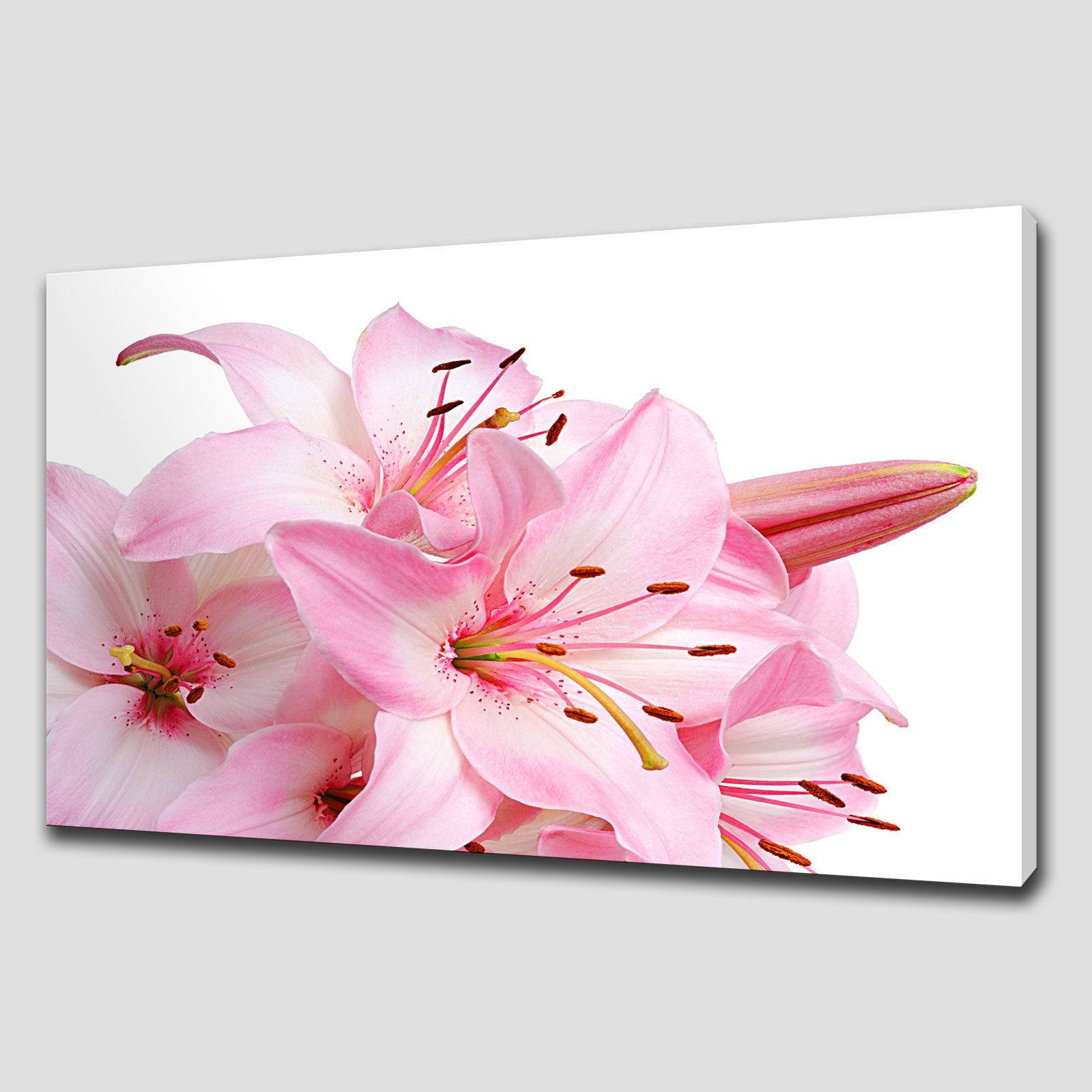 Wall Art Designs: Canvas Floral Wall Art Flowers Paintings Large Throughout Latest Flower Wall Art Canvas (View 19 of 20)