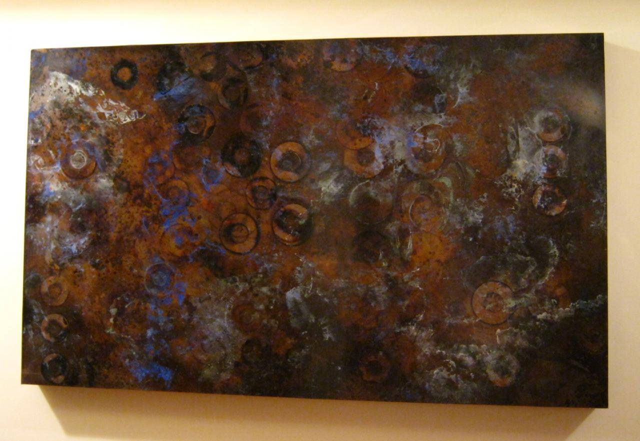 Featured Photo of Large Copper Wall Art