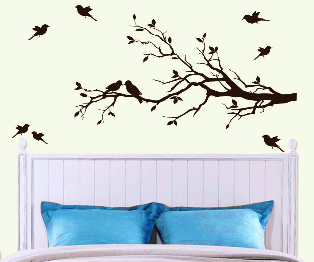 Wall Art Designs: Inspirational Trees Wall Art New Concept Birch With Regard To Newest Painted Trees Wall Art (View 18 of 20)