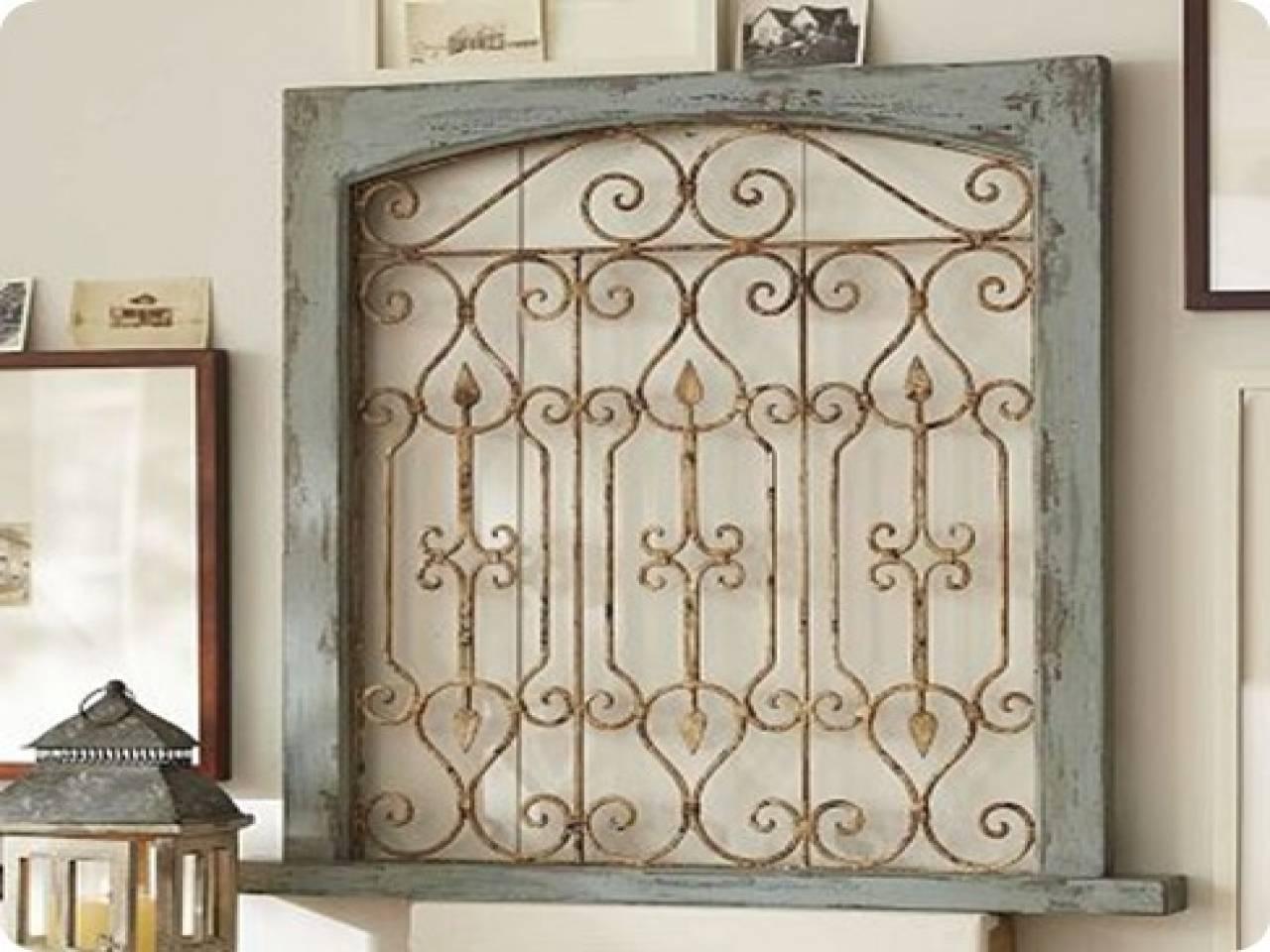 Wall Art Designs: Kirklands Wall Art Garden Gate Wall Decor Iron With Regard To Recent Iron Gate Wall Art (View 1 of 25)