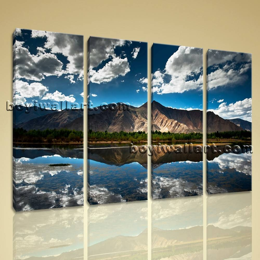 Wall Art Designs: Landscape Wall Art Large Wall Art Home Decor Inside 2017 Canvas Landscape Wall Art (View 9 of 20)