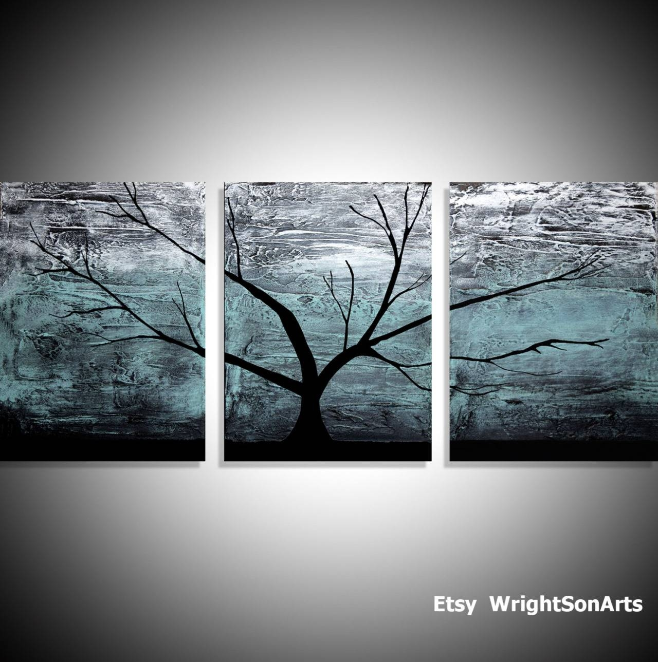 Wall Art Designs: Large Wall Art Original Acrylic Paintings On With Regard To Most Up To Date Large Triptych Wall Art (View 8 of 20)