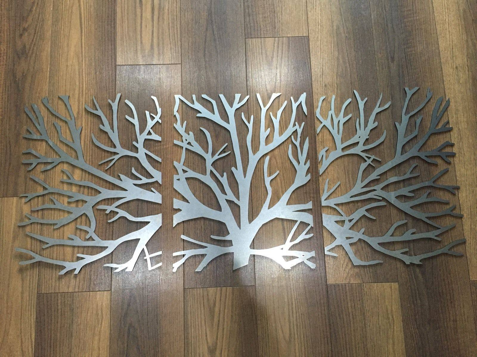 2019 Latest Metal Tree Wall Art Sculpture