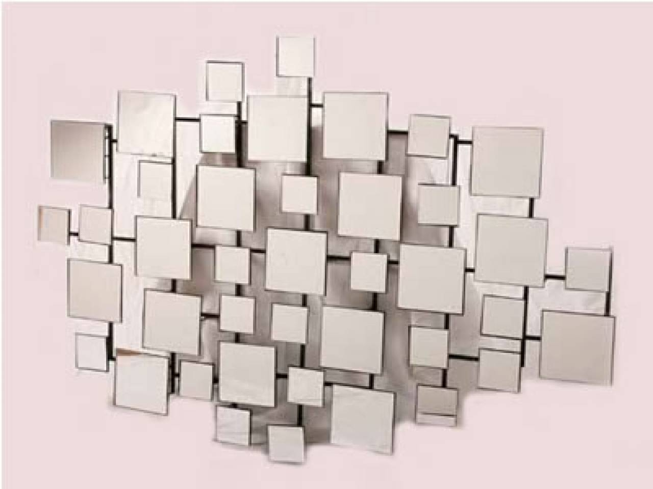Wall Art Designs: Mirrored Wall Art Geometric Mirror Wall Art Inside Best And Newest Fretwork Wall Art (View 23 of 25)