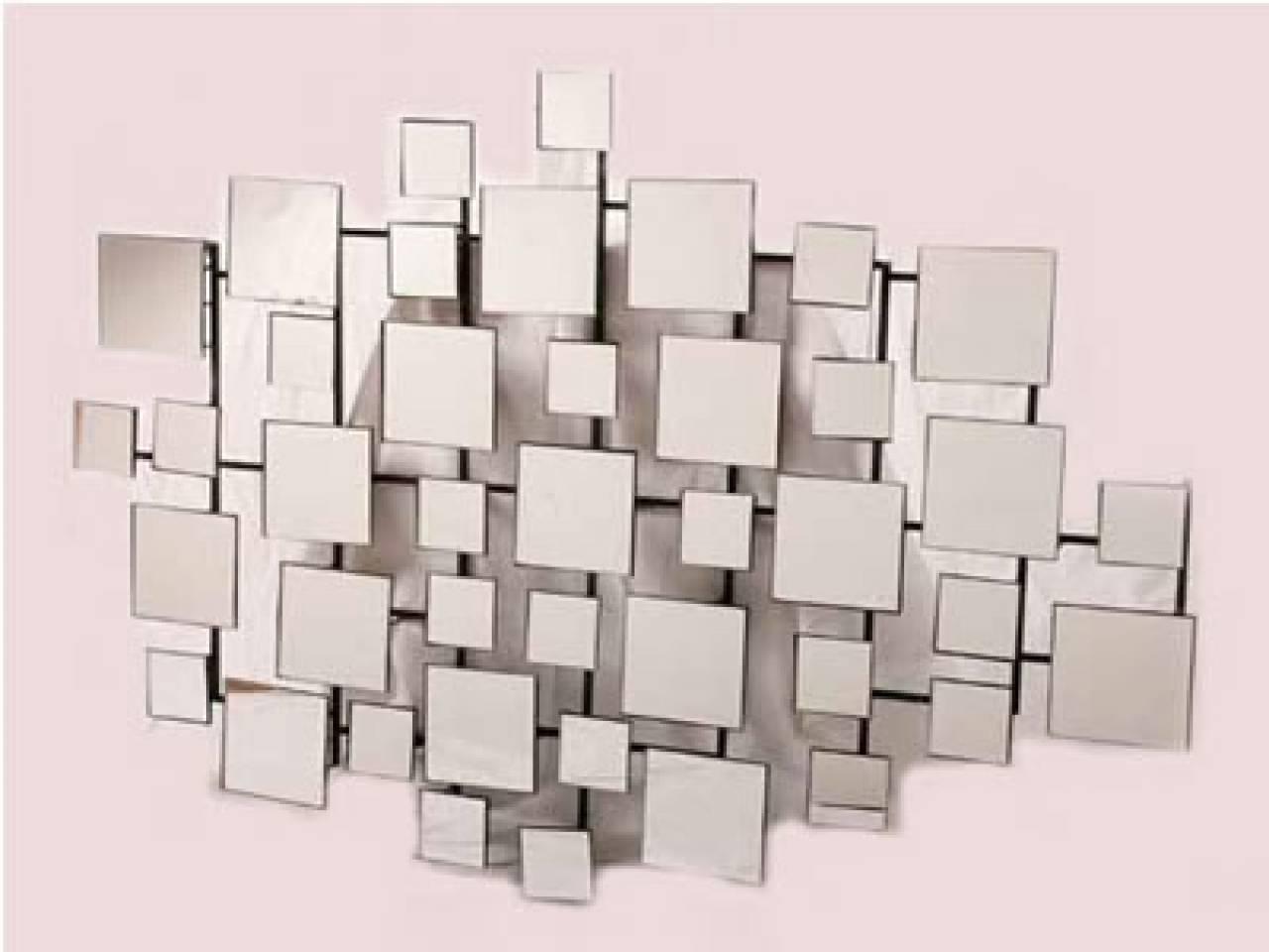 Wall Art Designs: Mirrored Wall Art Metal Mirror Wall Art Mirrored Intended For 2017 Abstract Mirror Wall Art (View 7 of 15)