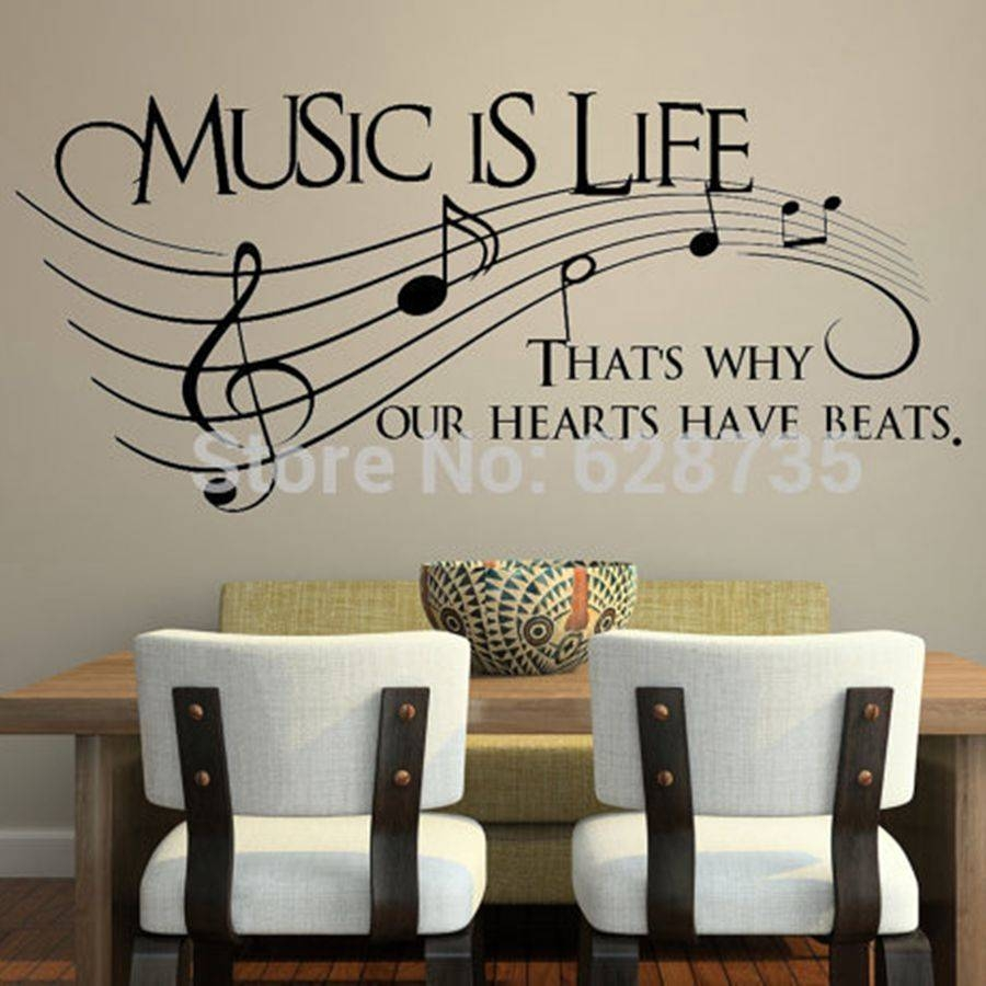 Wall Art Designs: Music Wall Art Online Buy Wholesale Music Wall With Regard To Most Popular Music Lyrics Wall Art (View 7 of 20)