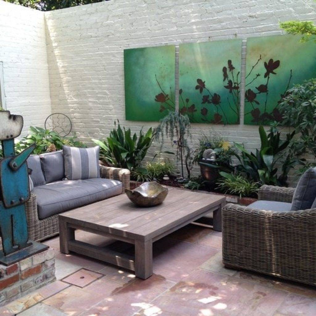 Wall Art Designs: Outdoor Wall Art Garden Design With Outdoor Throughout Most Current Outside Wall Art (View 16 of 31)