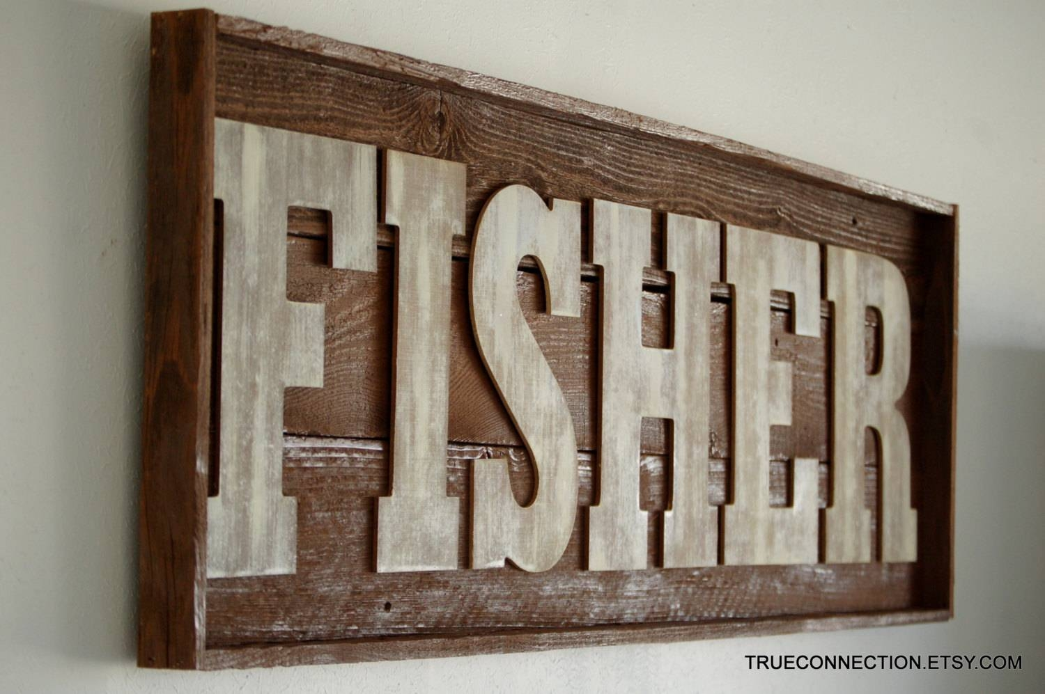 Wall Art Designs: Personalized Wood Wall Art Wall Art Name Sign Intended For Most Recently Released Personalized Last Name Wall Art (View 3 of 20)