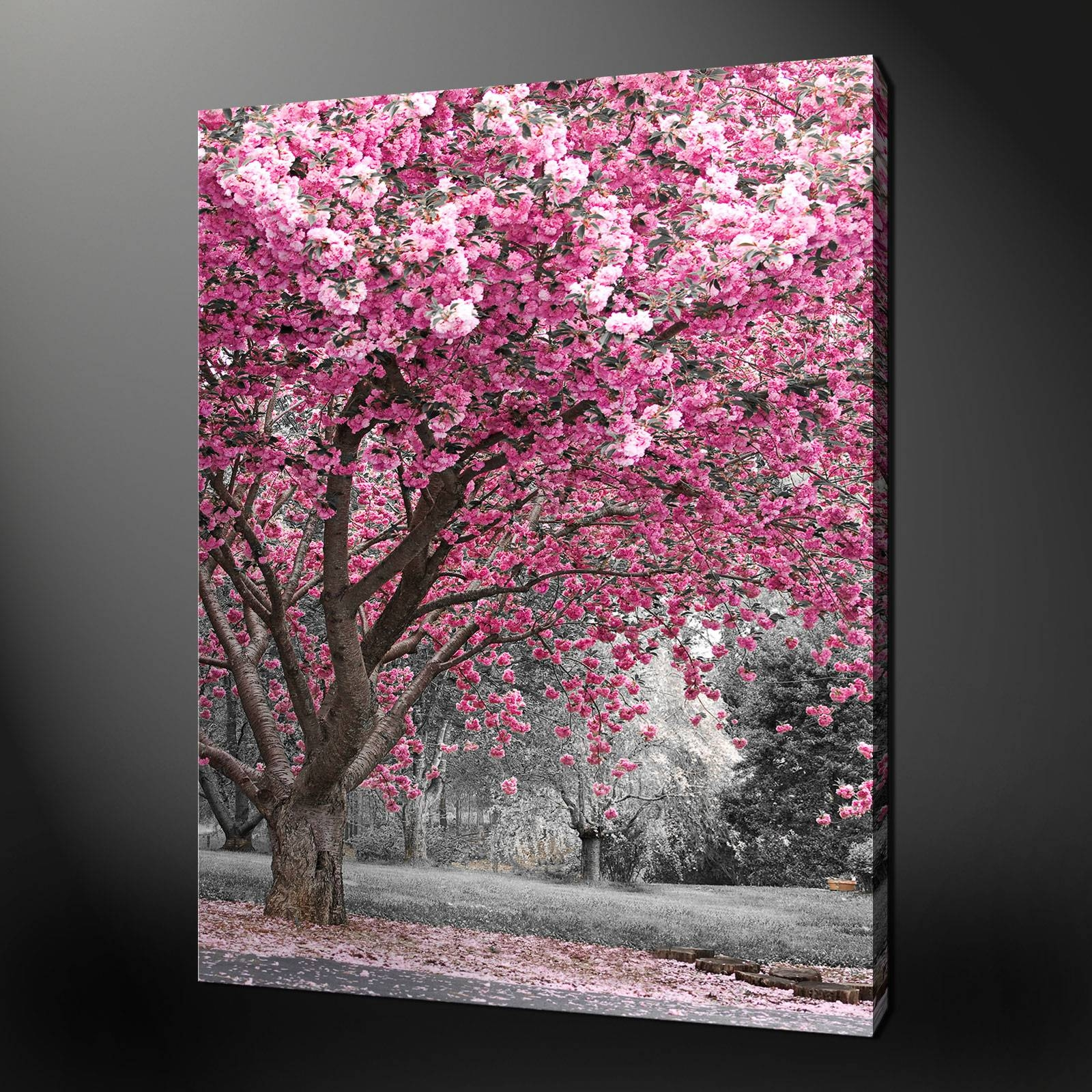 Wall Art Designs: Pink Wall Art Pink Flowers Wall Art The Best Within Best And Newest Pink Flower Wall Art (View 18 of 20)