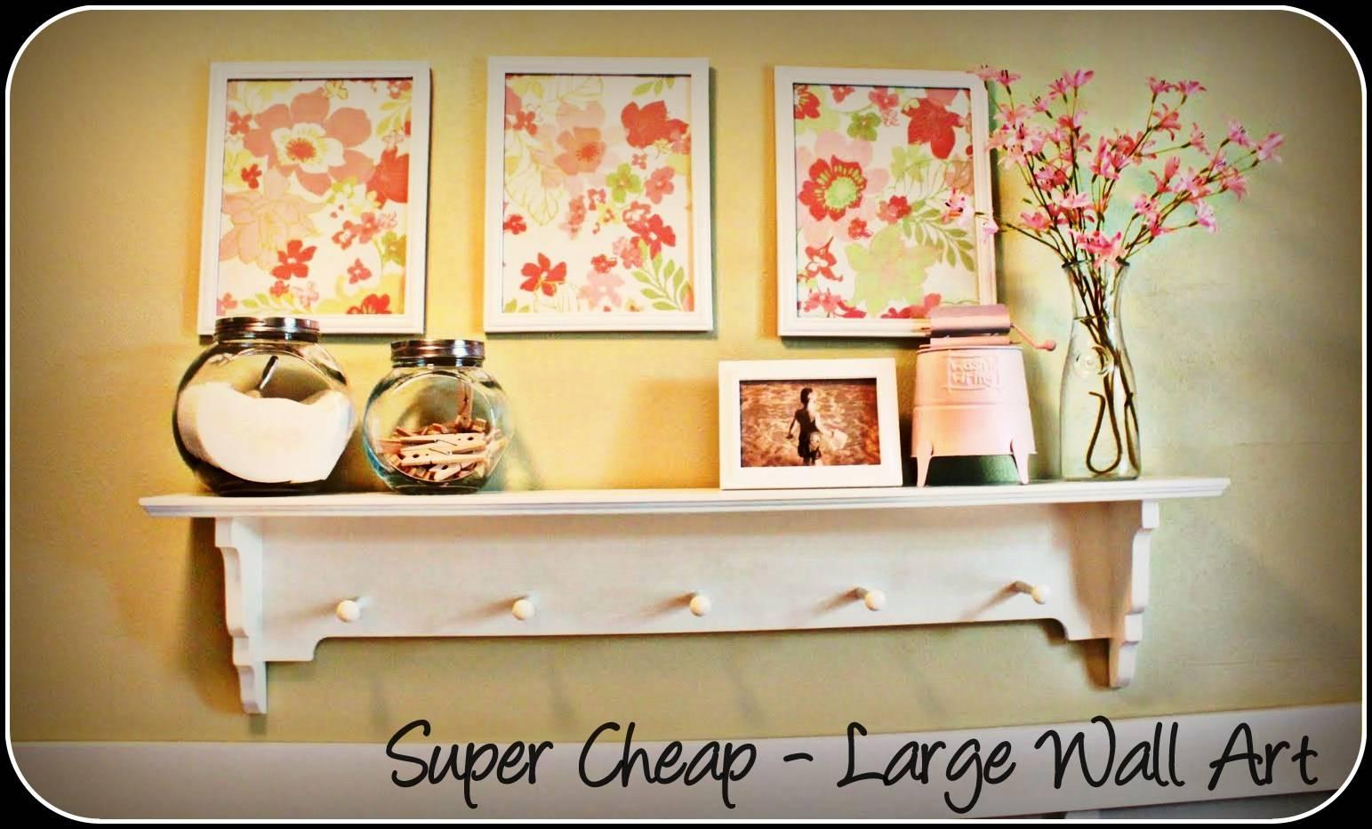 Wall Art Designs: Top Cheapest Wall Art Stickers Economical Art Regarding Most Recent Cheap Big Wall Art (View 20 of 20)