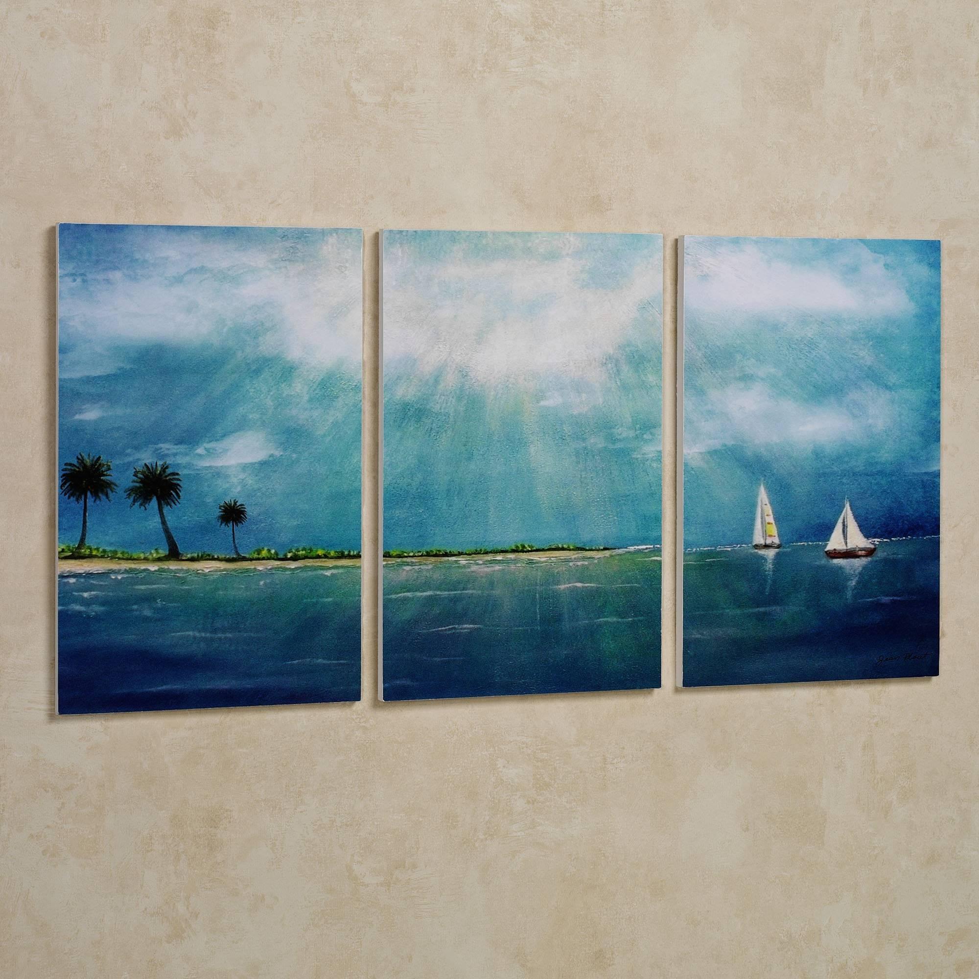 Wall Art Designs: Triptych Wall Art Blue Triptych Wall Art Throughout Latest Large Triptych Wall Art (View 4 of 20)