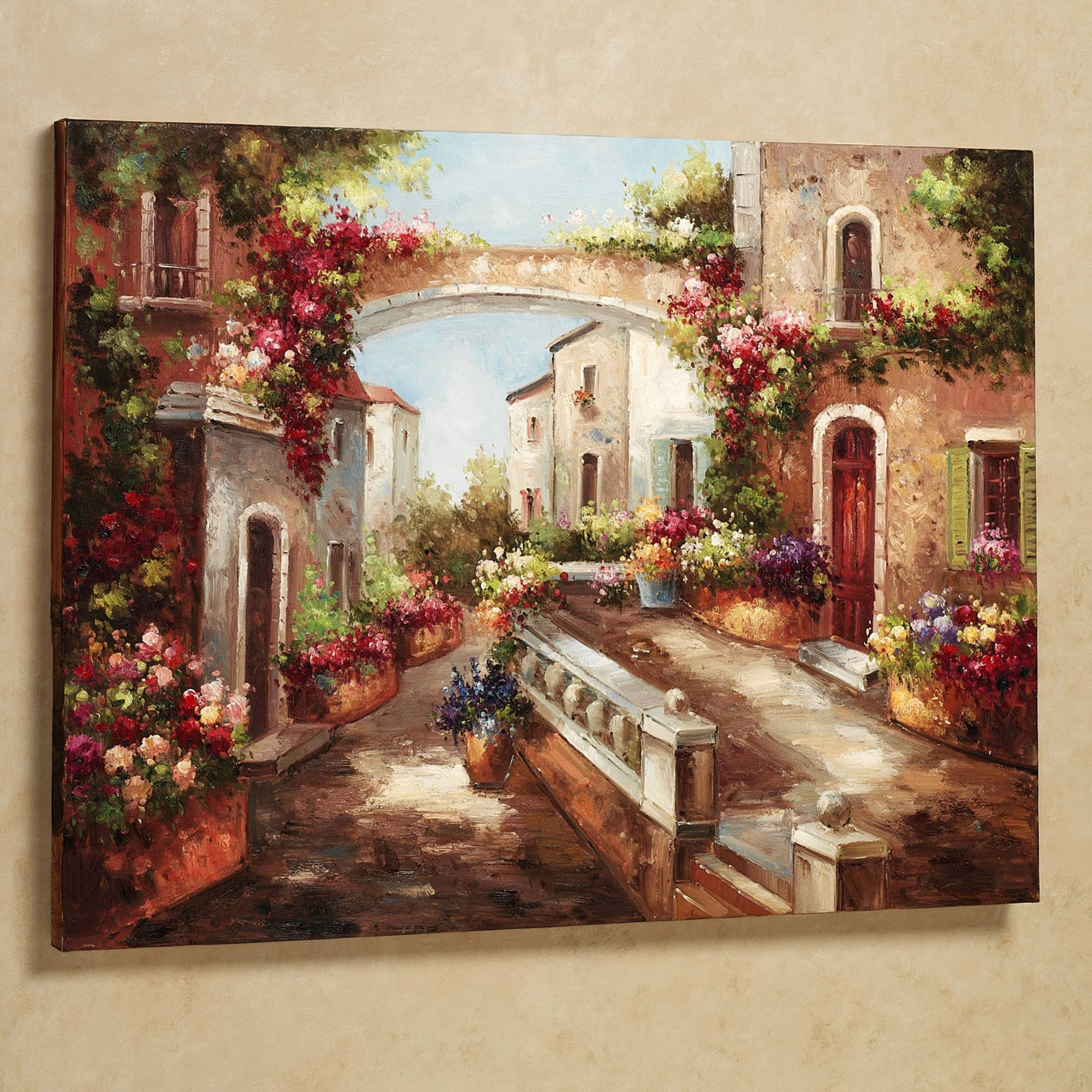 Wall Art Designs: Tuscan Wall Art Early Spring Tuscan Season Theme Intended For Recent Tuscan Wall Art Decor (View 4 of 20)