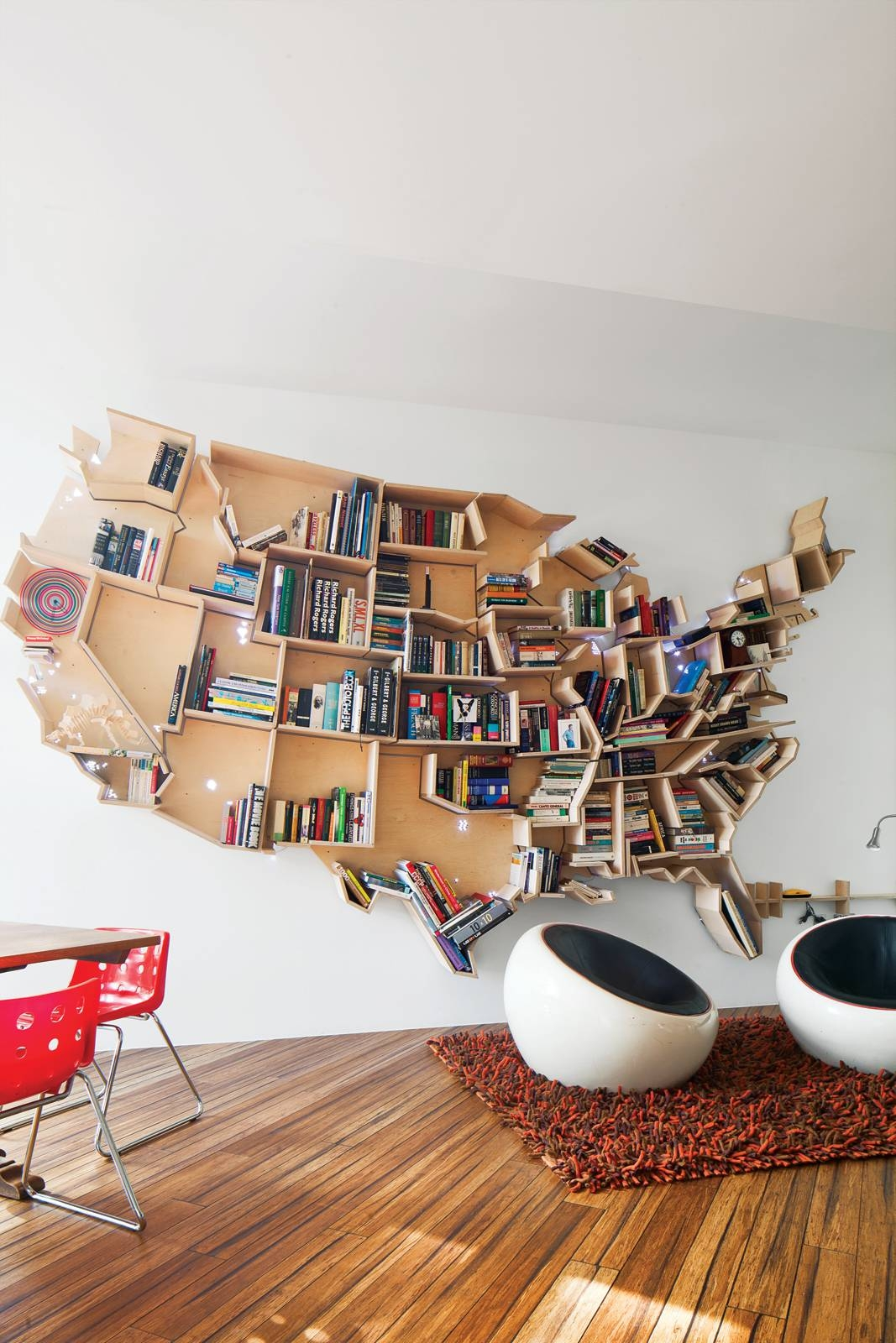 Featured Photo of United States Map Wall Art