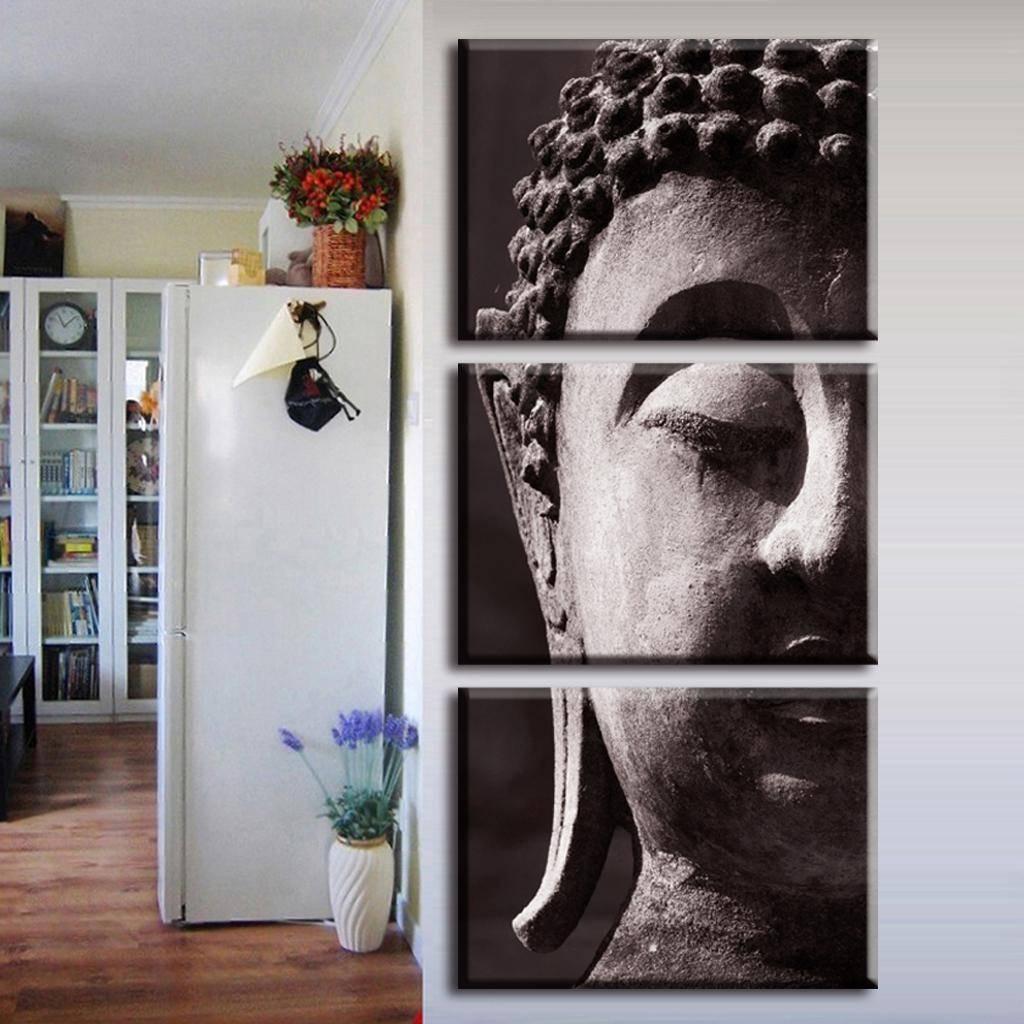 Wall Art Designs: Vertical Wall Art Buddha Painting Vertical with regard to 2017 Large Buddha Wall Art