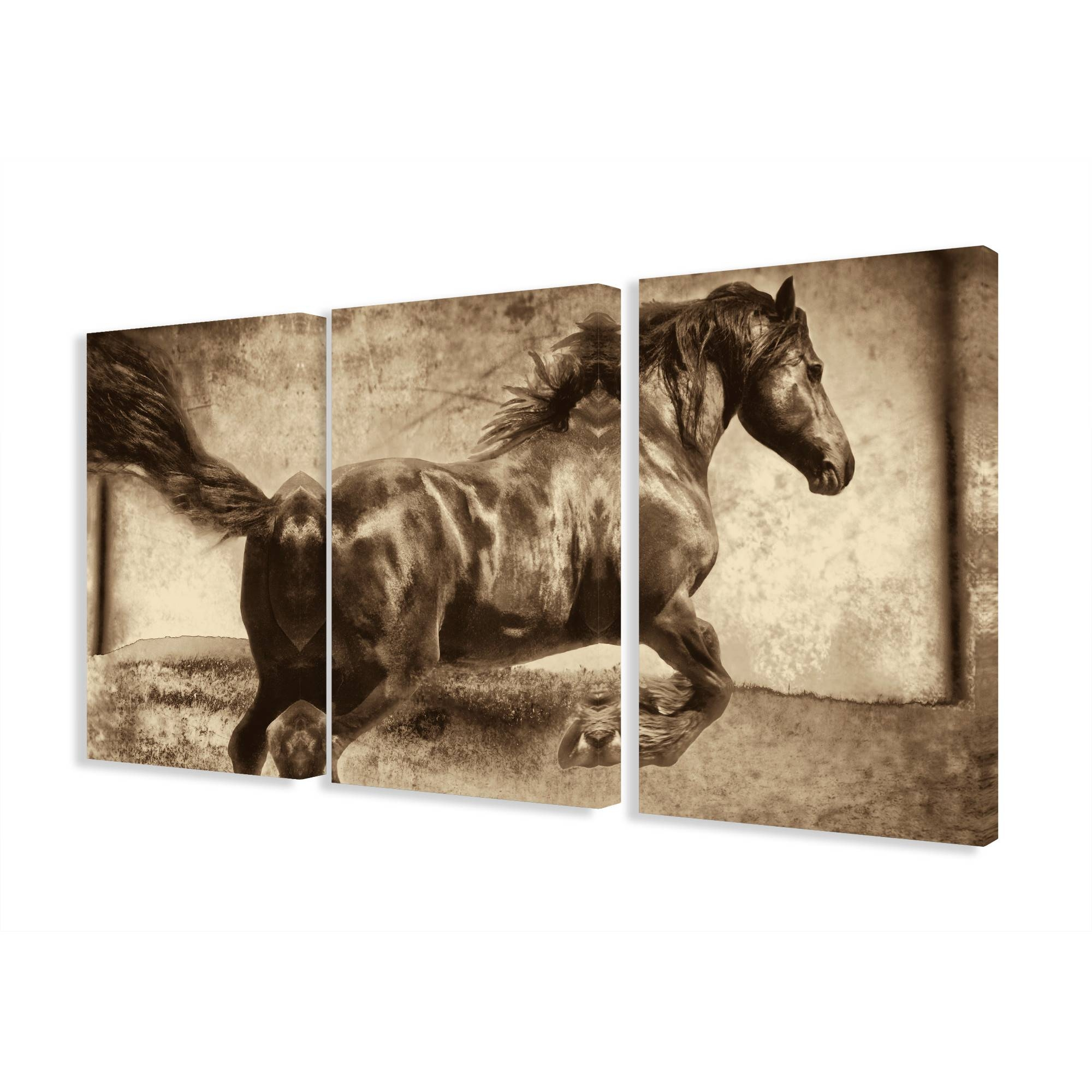 Wall Art Designs: Wonderful Product Description On Wrapped Canvas Throughout Most Current Wall Art Multiple Pieces (View 18 of 20)