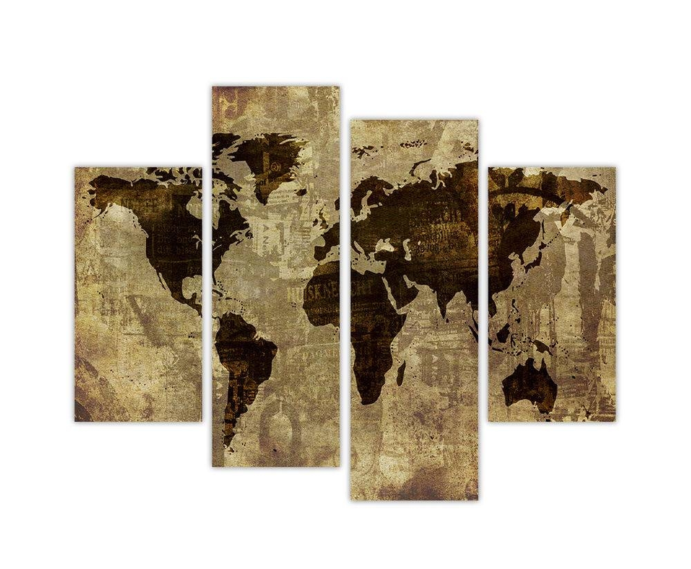 Wall Art Designs: World Atlas Wall Art Large Maps Shrugged Cover Regarding 2018 Atlas Wall Art (View 13 of 20)