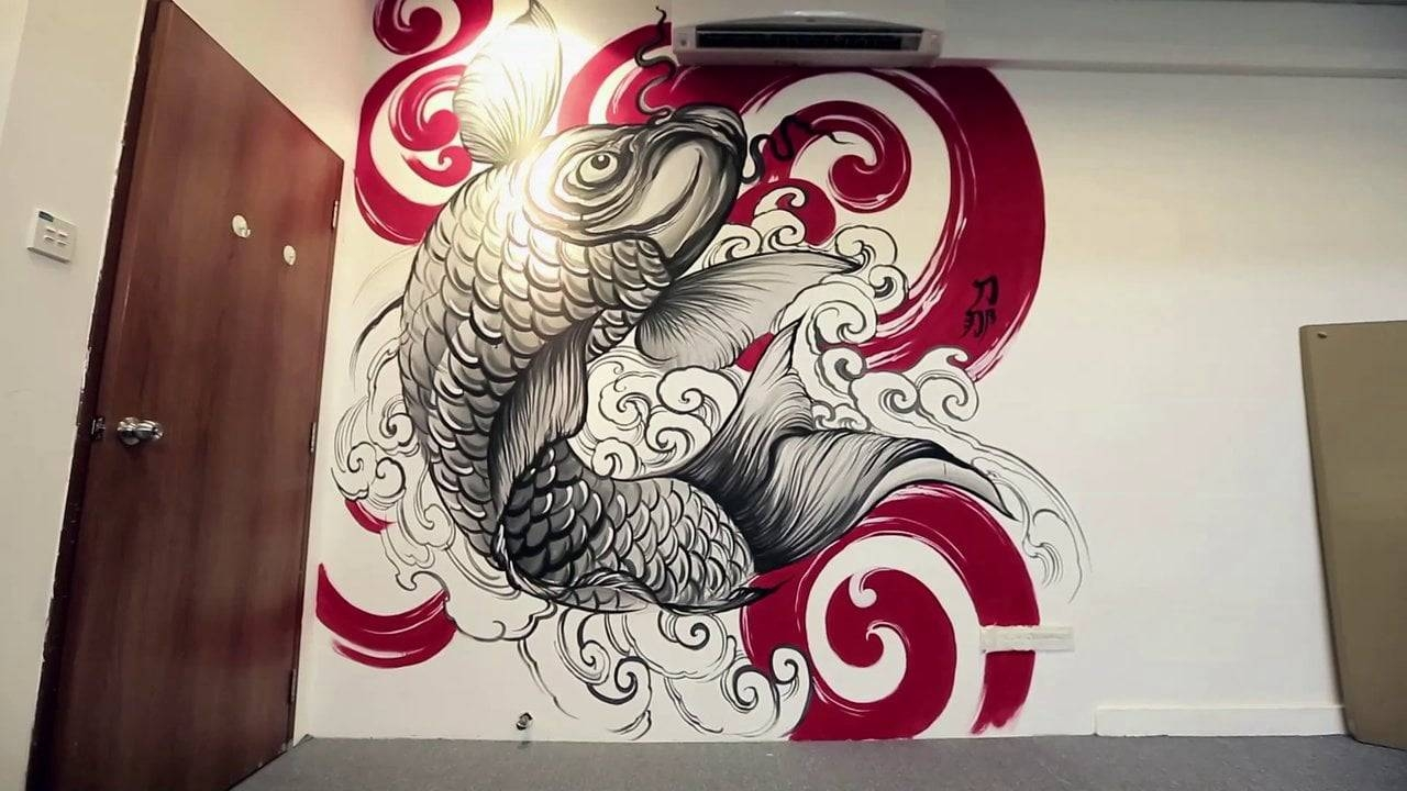 Wall Art  Donald Kwek On Vimeo Regarding Latest Tattoos Wall Art (View 17 of 20)