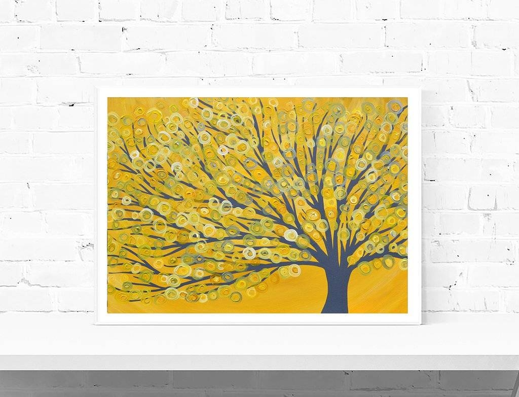 Image Gallery of Yellow And Blue Wall Art (View 14 of 20 Photos)
