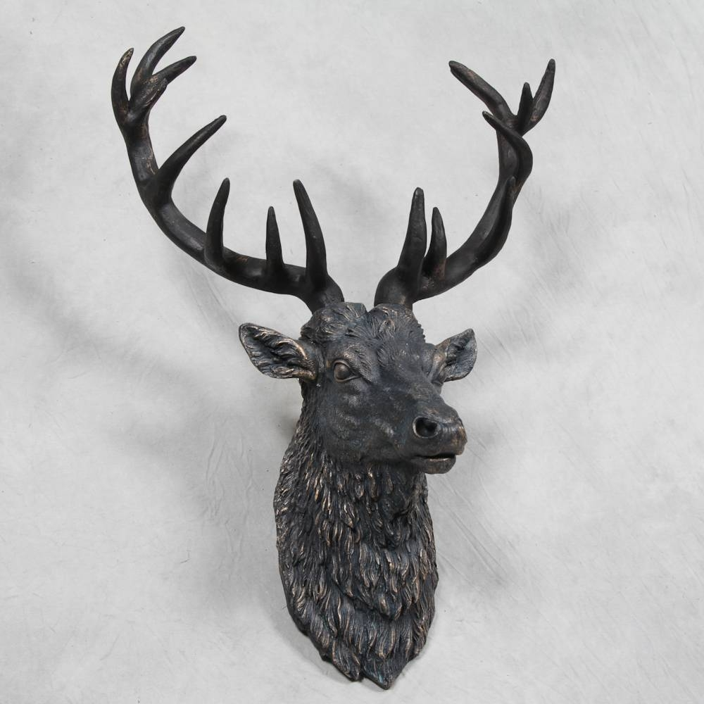 Wall Art – Hydes Furniture & Interiors Intended For Most Current Stags Head Wall Art (View 24 of 25)