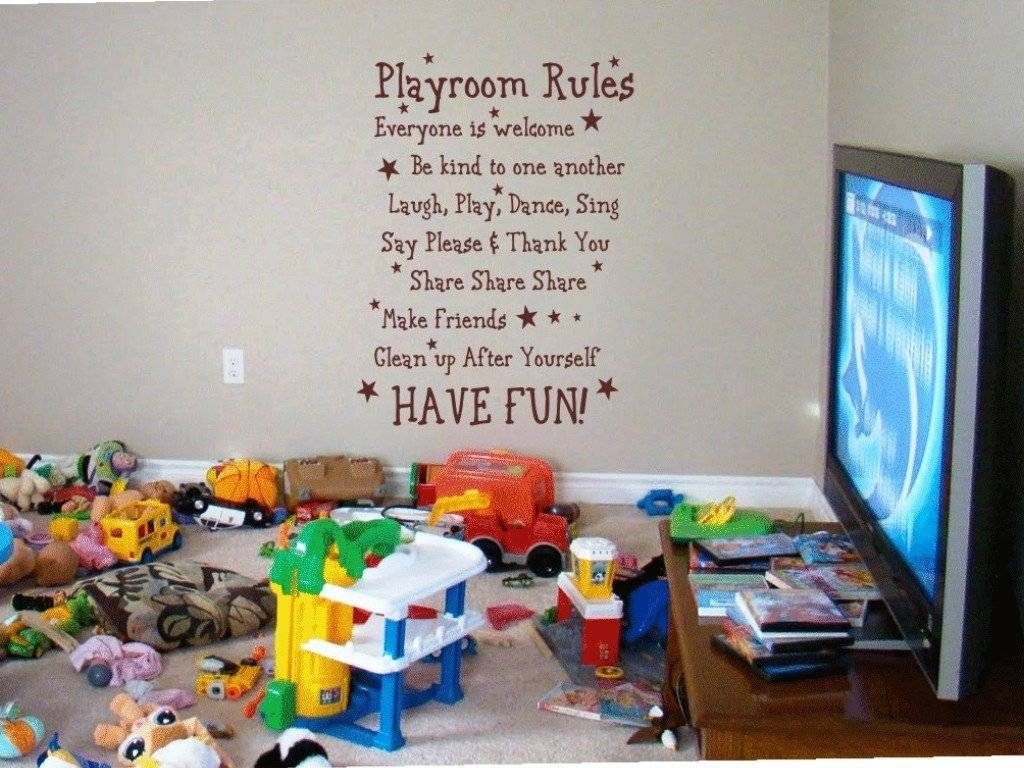 Wall Art Ideas For Playroom | Wallartideas Inside 2018 Wall Art For Playroom (View 11 of 30)