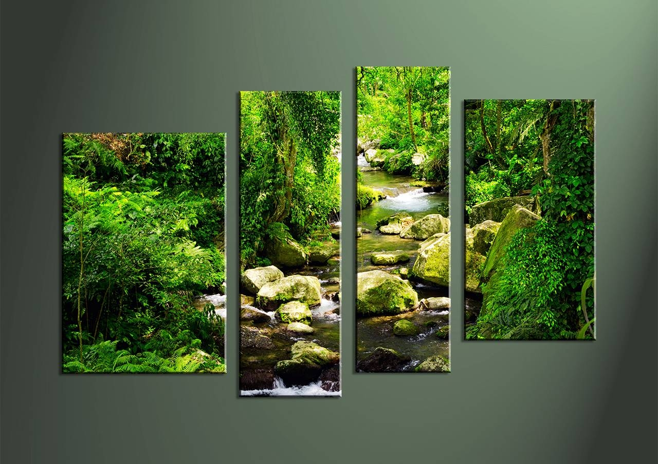 Wall Art: Interesting Multiple Canvas Wall Art Multiple Piece With Regard To Most Popular Multiple Canvas Wall Art (View 18 of 20)