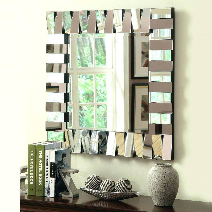 Wall Art Mirrors Modern Uk Large Winsome Design Contemporary With Most Current Wall Art Mirrors Contemporary (View 15 of 20)