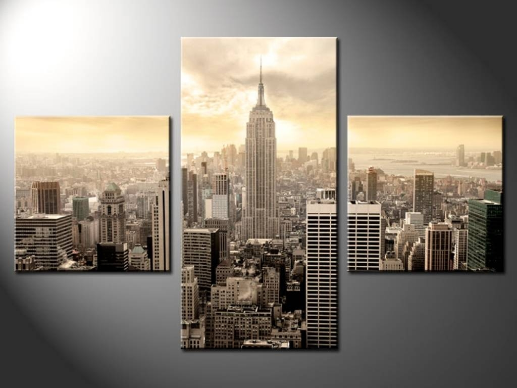 Wall Art New York Wall Art Design Amazing New York City Canvas With Most Current New York City Wall Art (View 4 of 20)