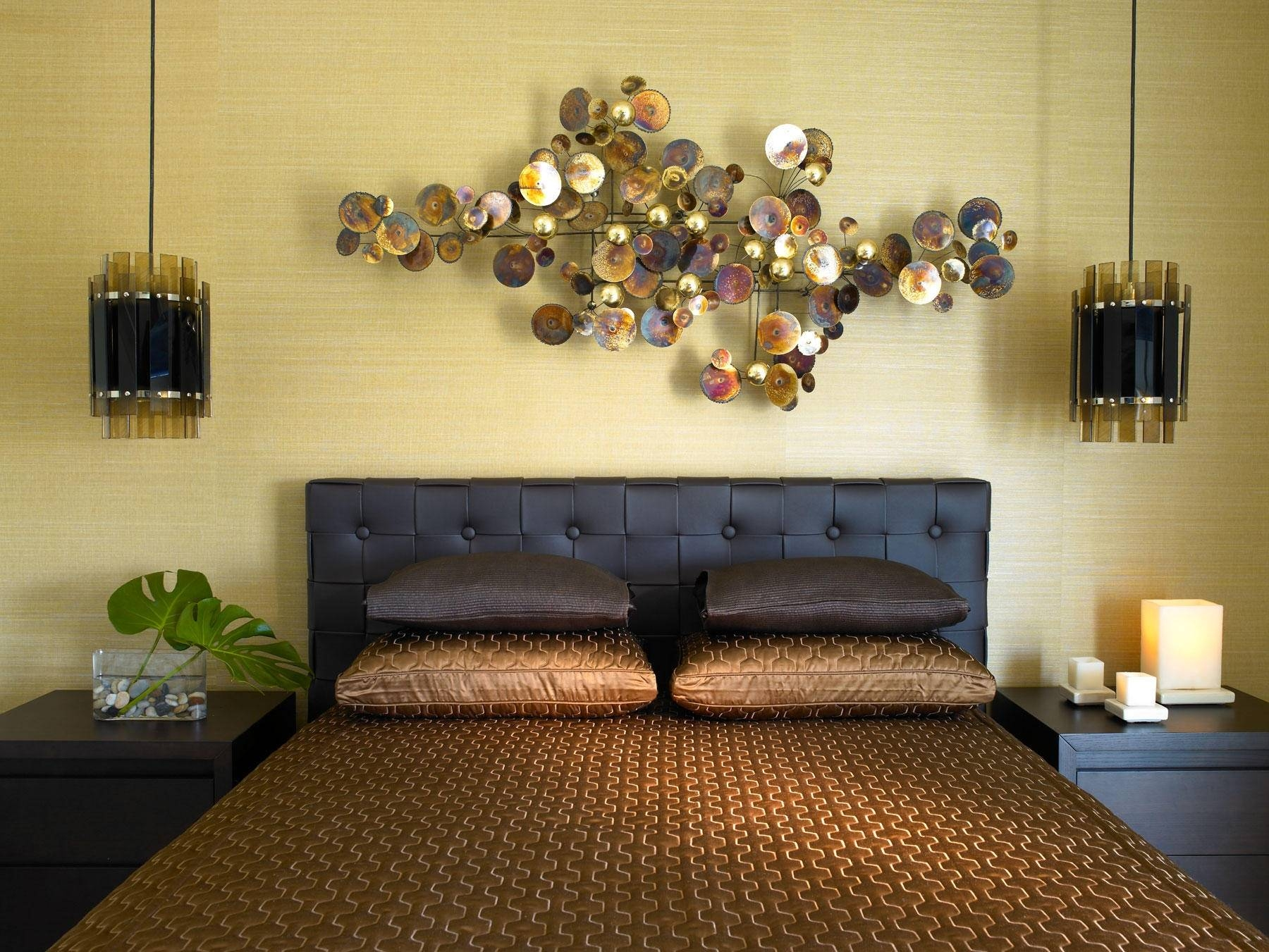 Wall Art Over Bed Home Design Styles Interior Ideas Superb For Newest Over The Bed Wall Art (View 15 of 20)