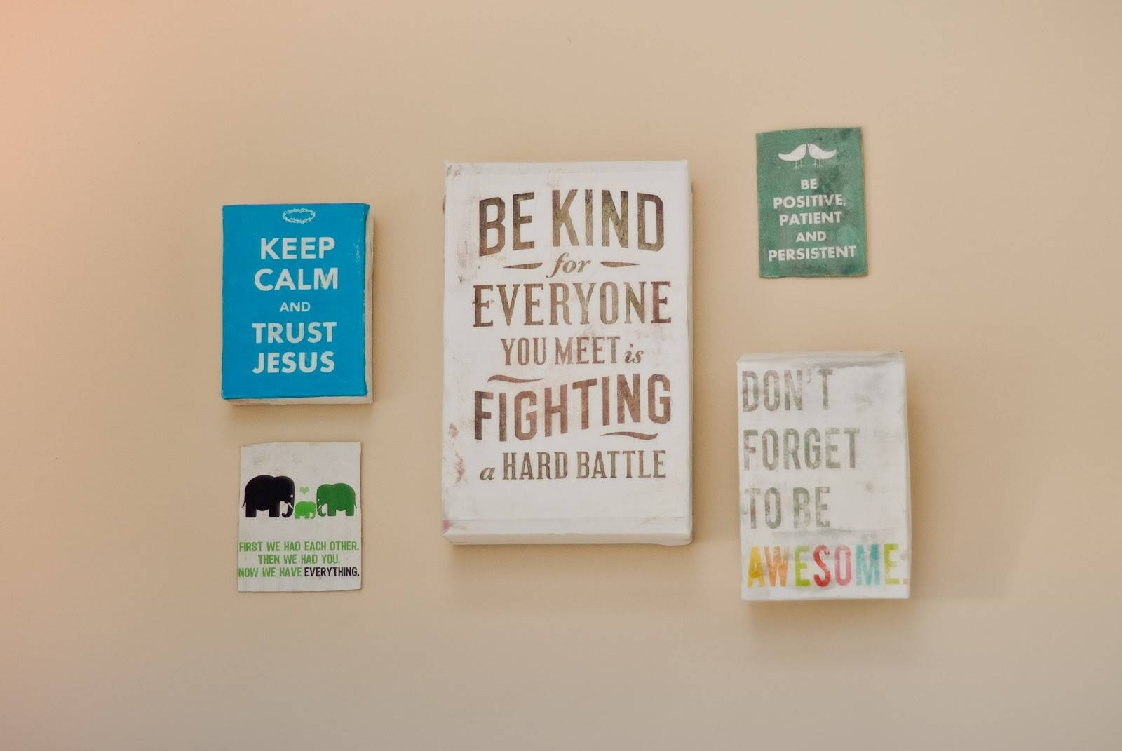 Wall Art Quotes Diy | Wallartideas For Most Recently Released Inspirational Sayings Wall Art (View 25 of 30)